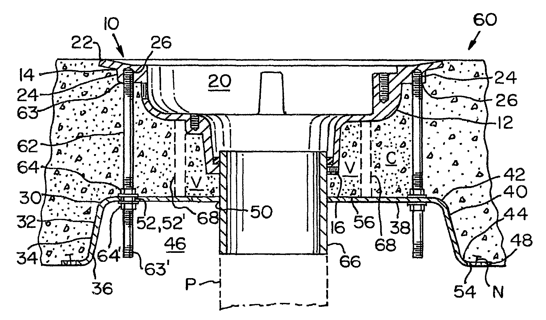 Patent Us8146308 Floor Drain Support Plate Google Patents