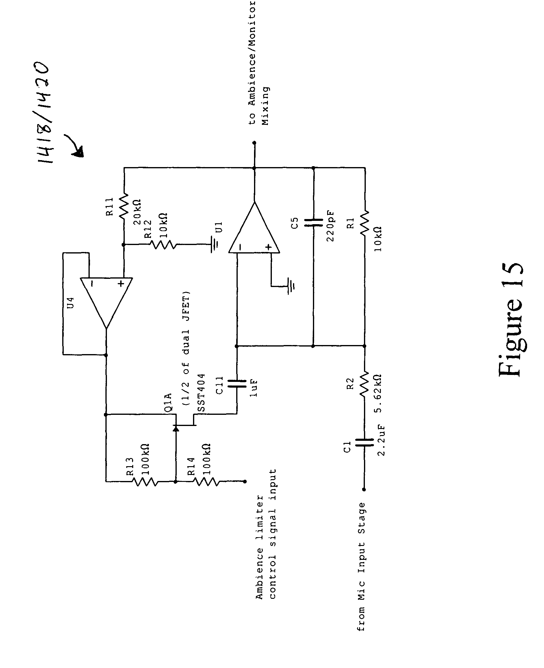 patent us8160261 - audio monitoring system