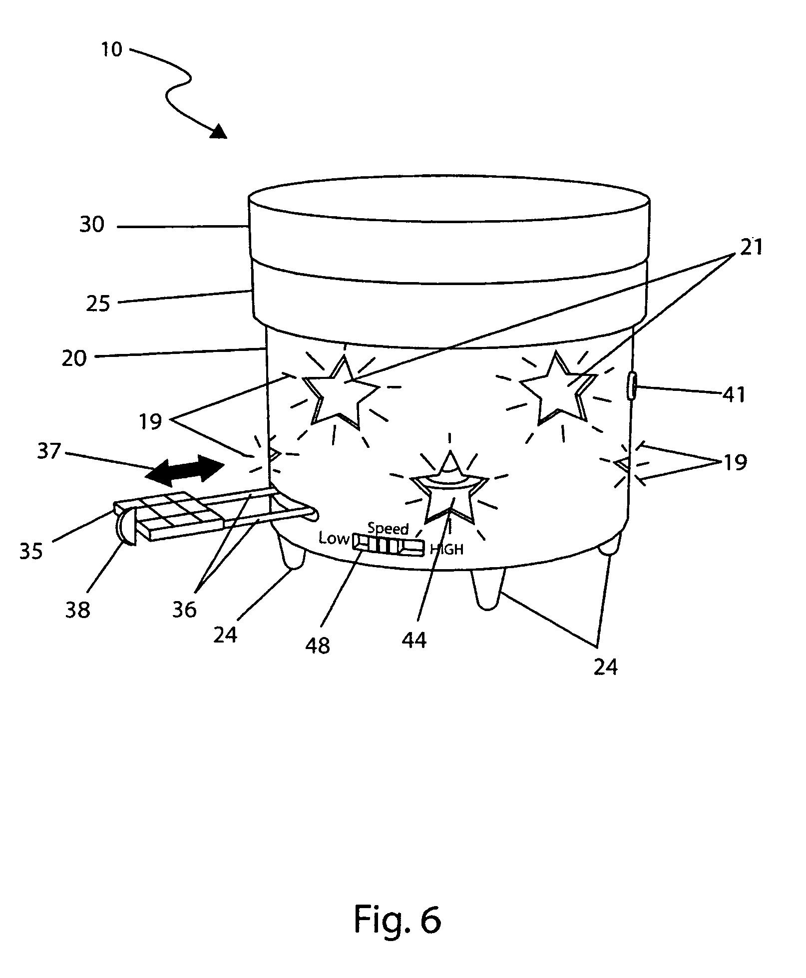 Patent Us8166701 Rotating Platform For Potted Plants