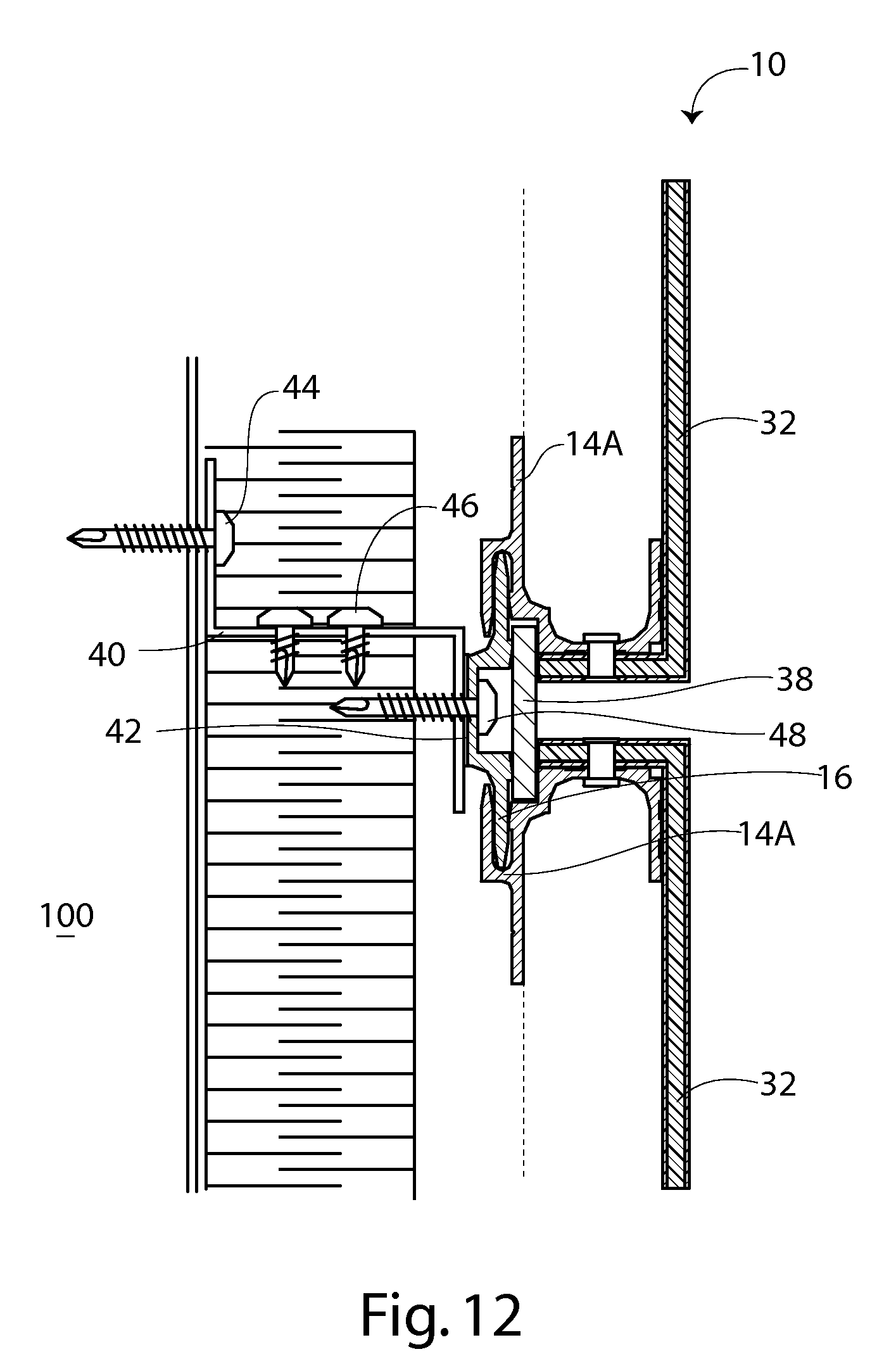 Patent Us8166716 Dry Joint Wall Panel Attachment System