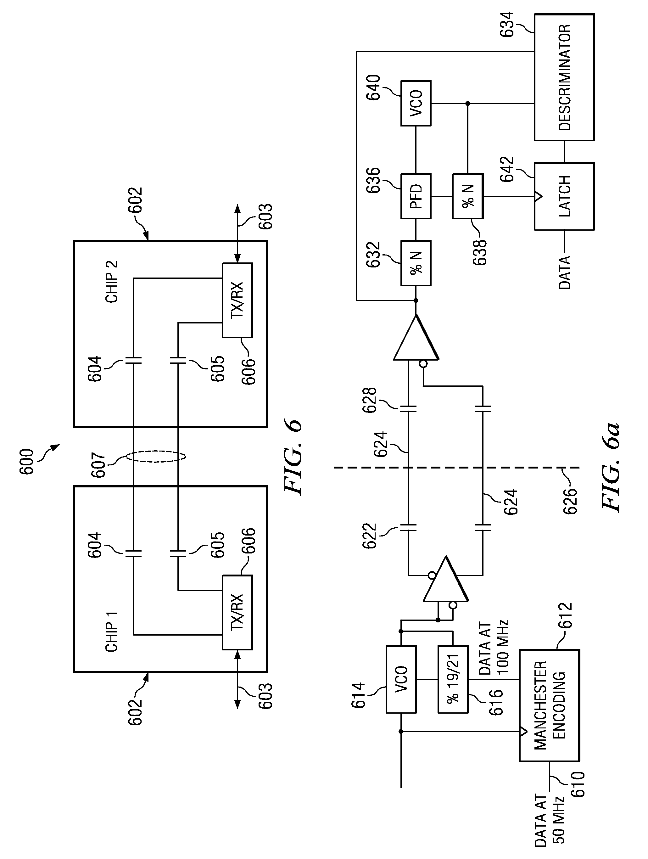 patent us8169108 - capacitive isolator