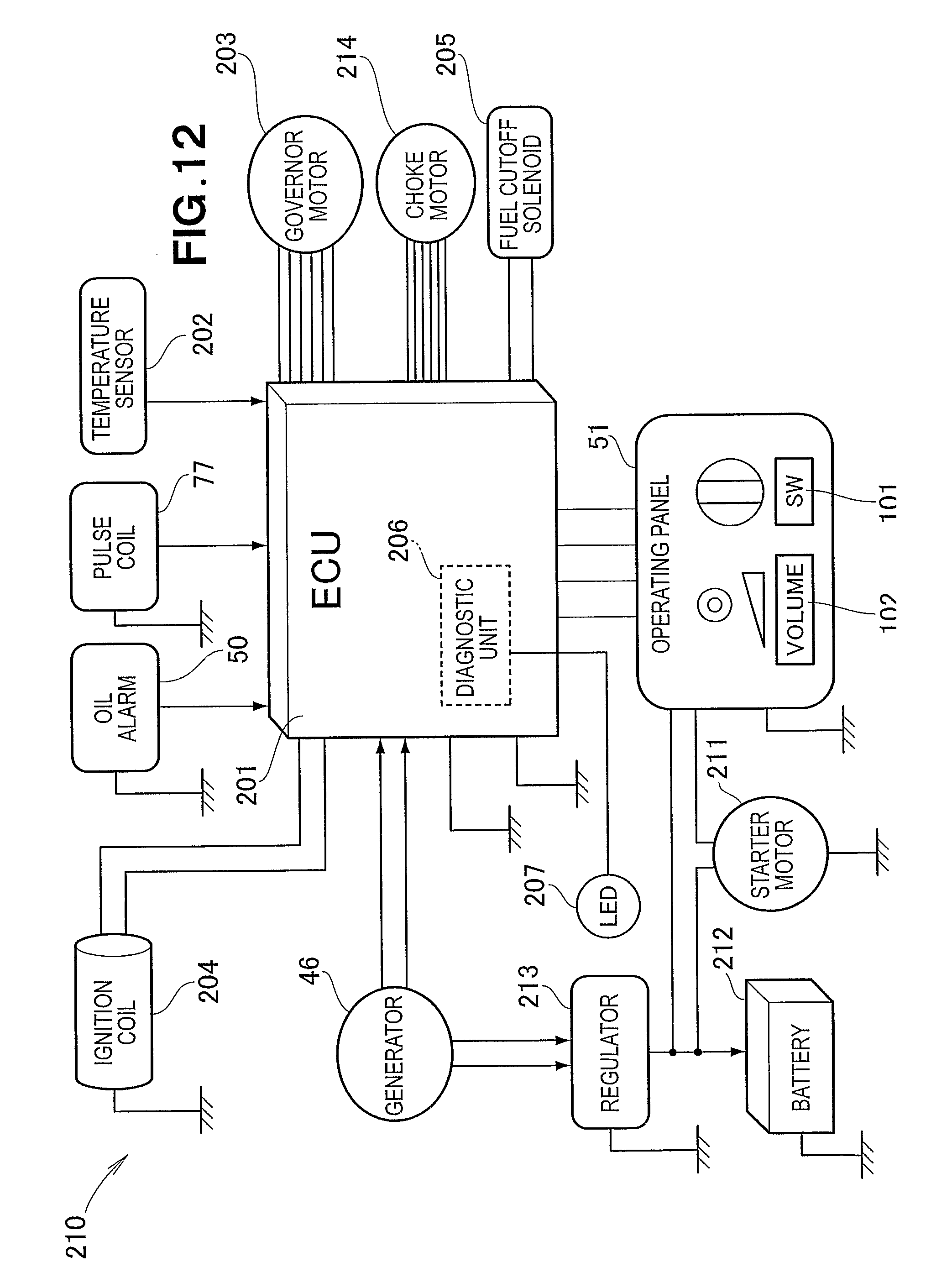 US08174140 20120508 D00012 patent us8174140 multipurpose engine having electrical wiring fg wilson control panel wiring diagram at n-0.co