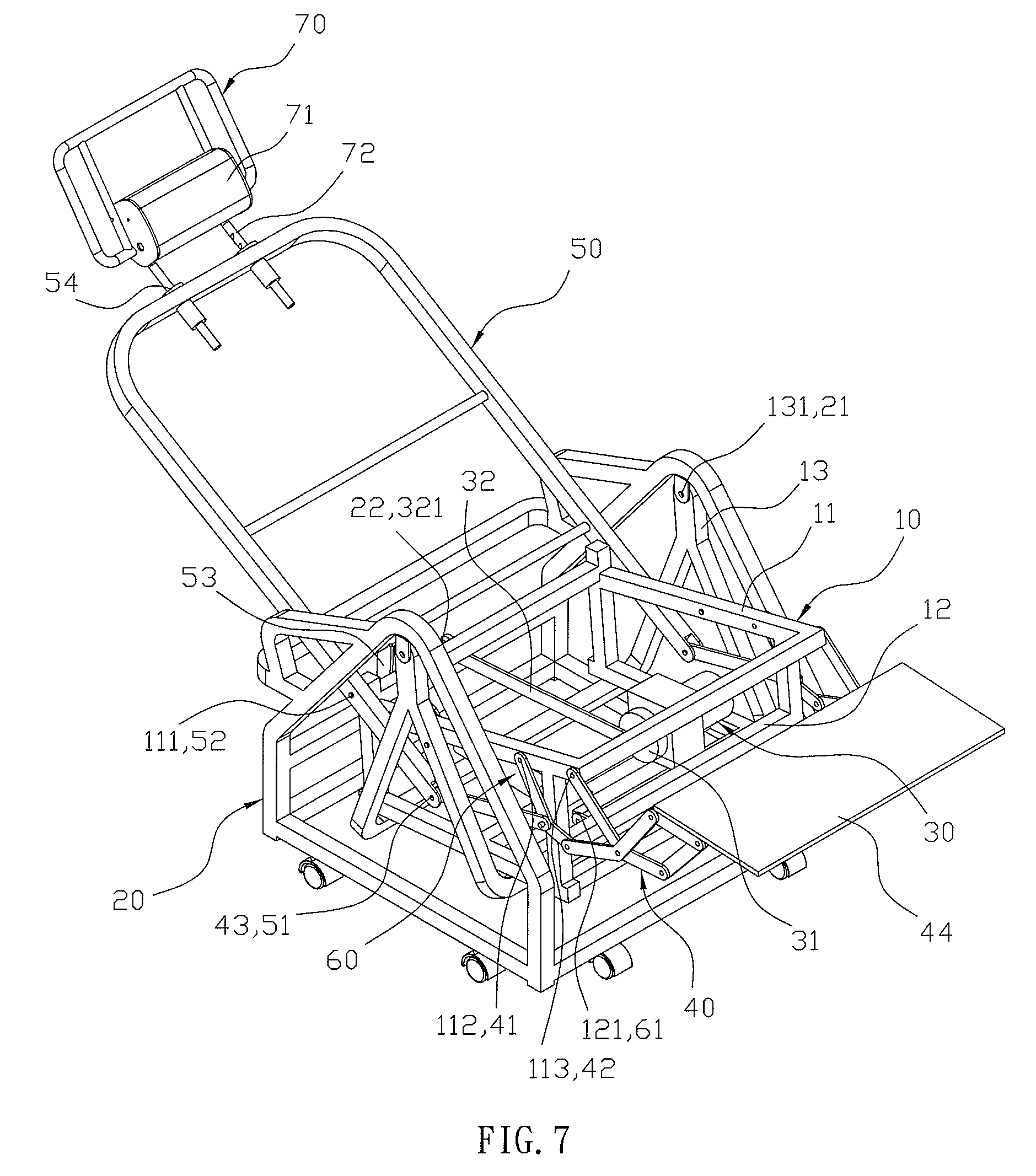 Patent Us8177296 Motorized Rocking Chair Moved In A