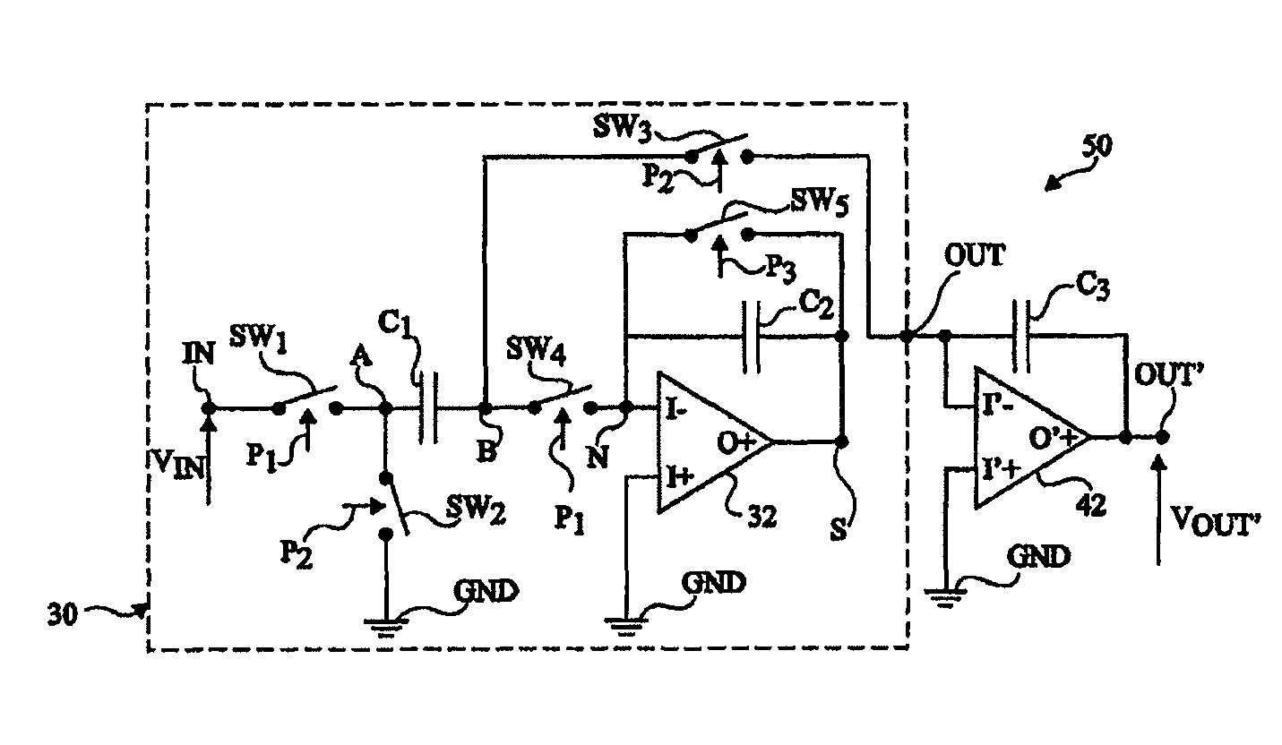 Patent Us8179183 Low Consumption Switched Capacitor Circuit Capacitorcircuit Drawing
