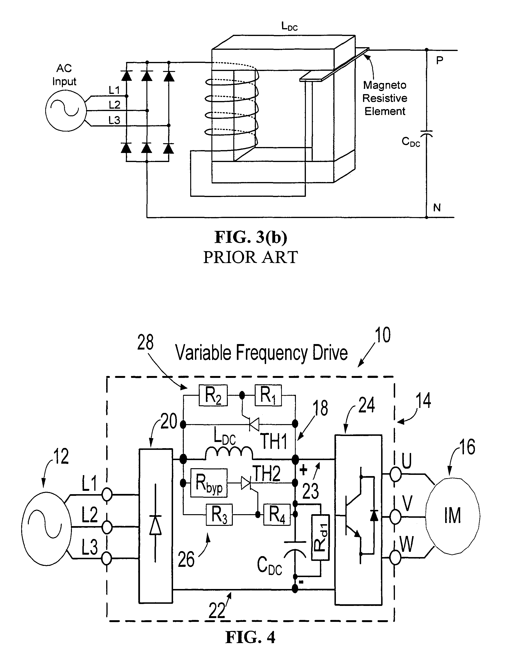 Patente Us8179701 Variable Frequency Drive Soft Charge Circuit Start On Capacitor Charging Discharging Diagram Patent Drawing