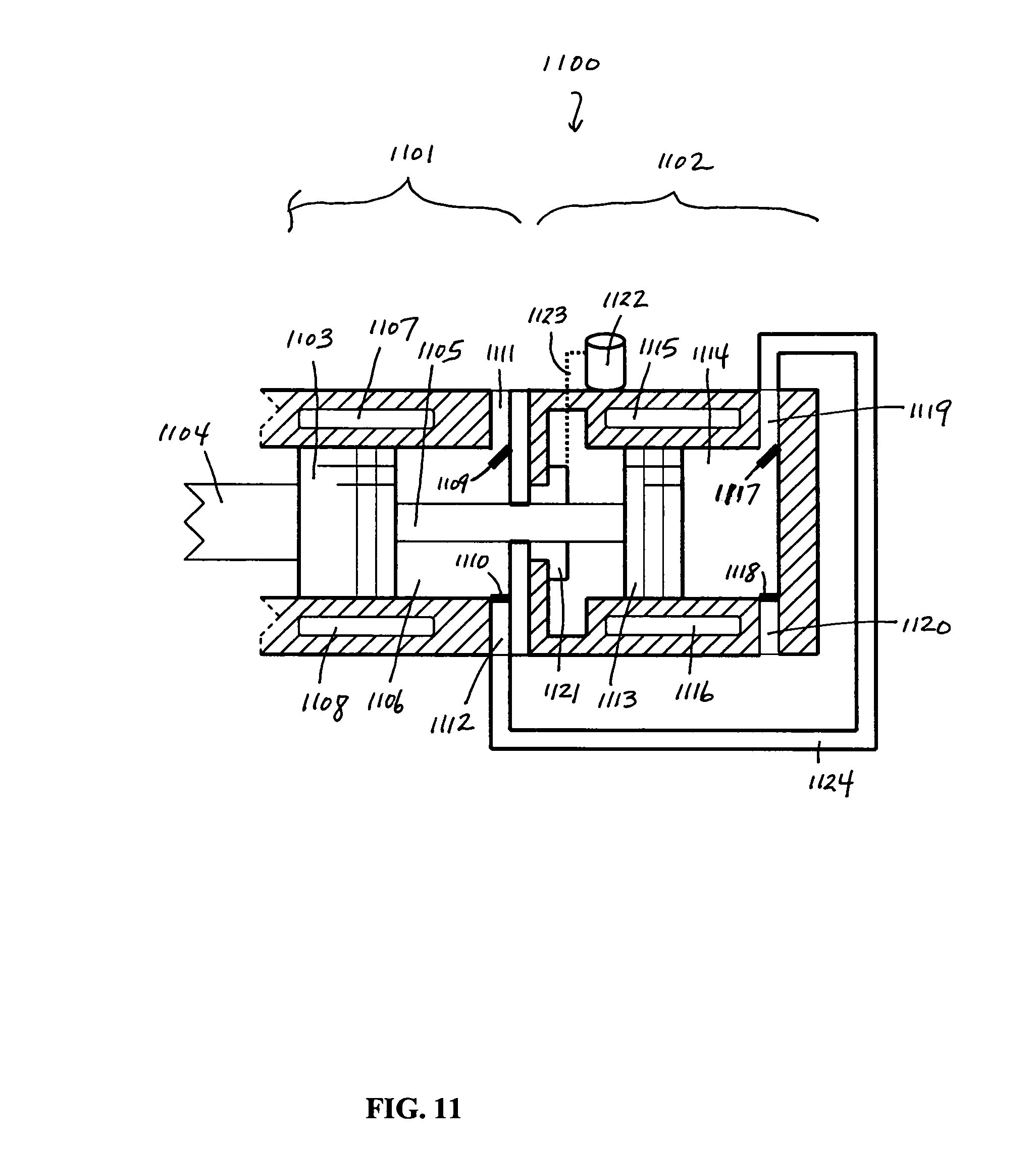 patent us8181460 - thermoacoustic driven compressor