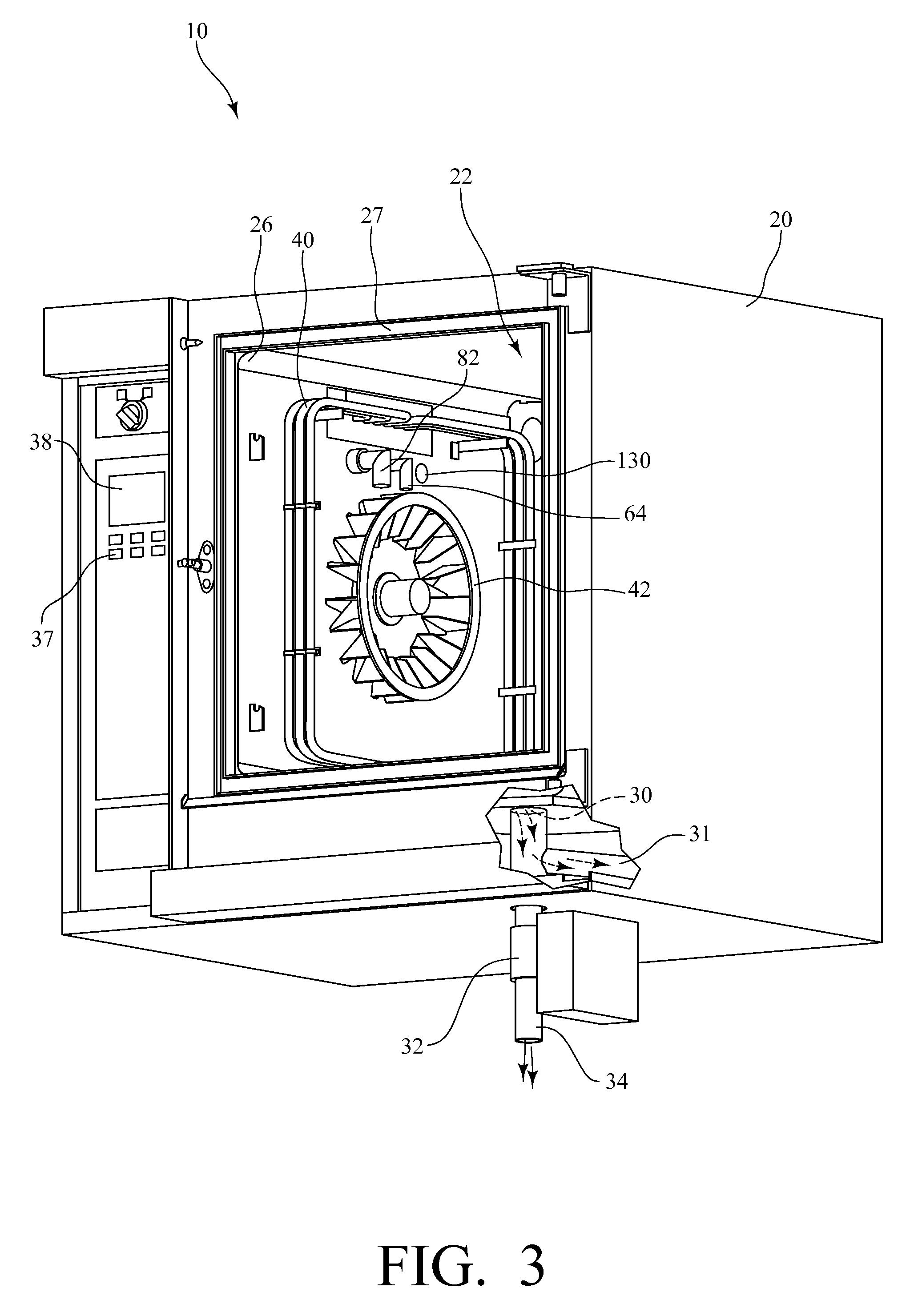 Patent Us8193470 Self Cleaning Convection Oven Google Patents Generator Circuit Diagram For 1934 Chevrolet Drawing