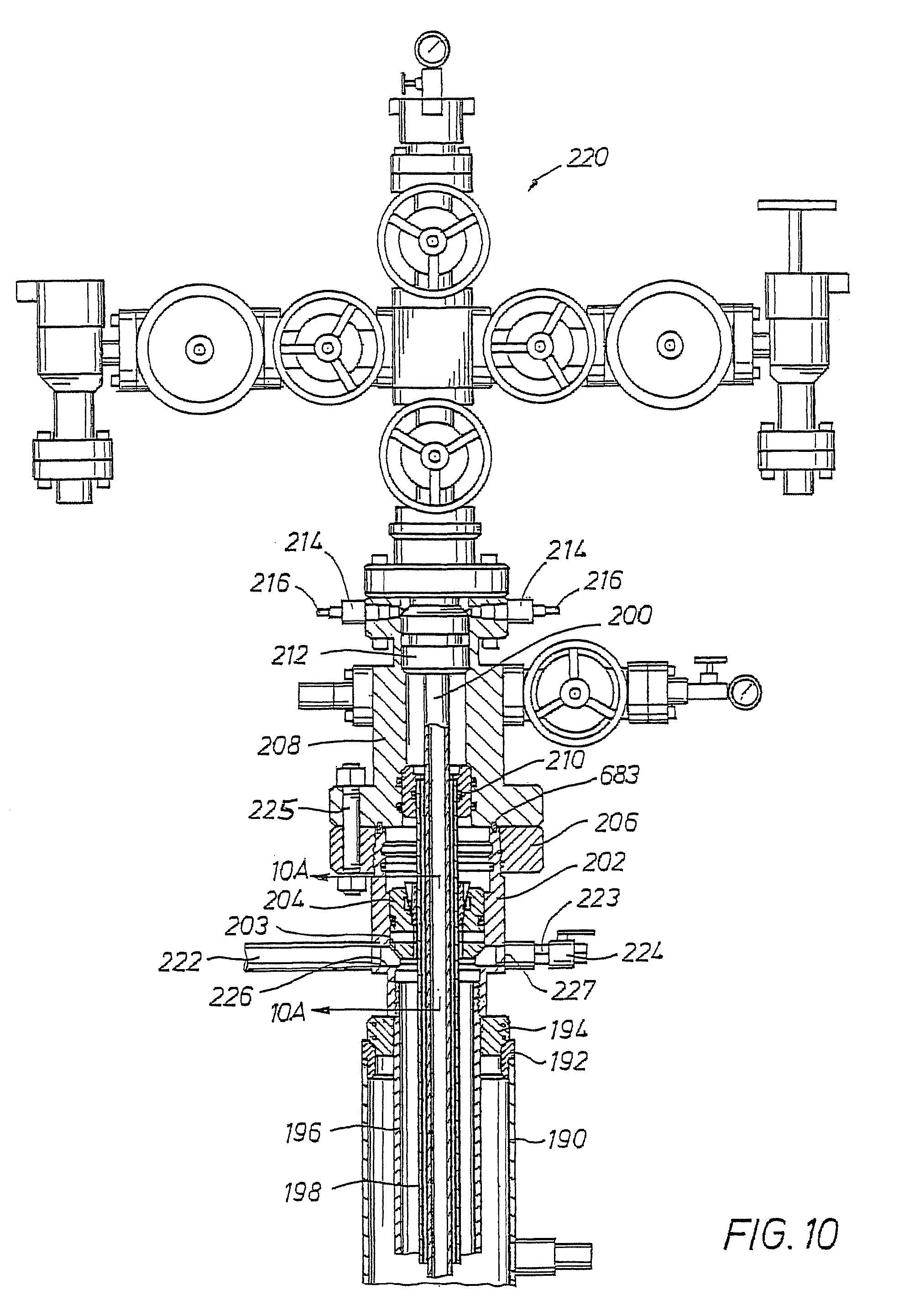 Patent Us8196649 Thru Diverter Wellhead With Direct