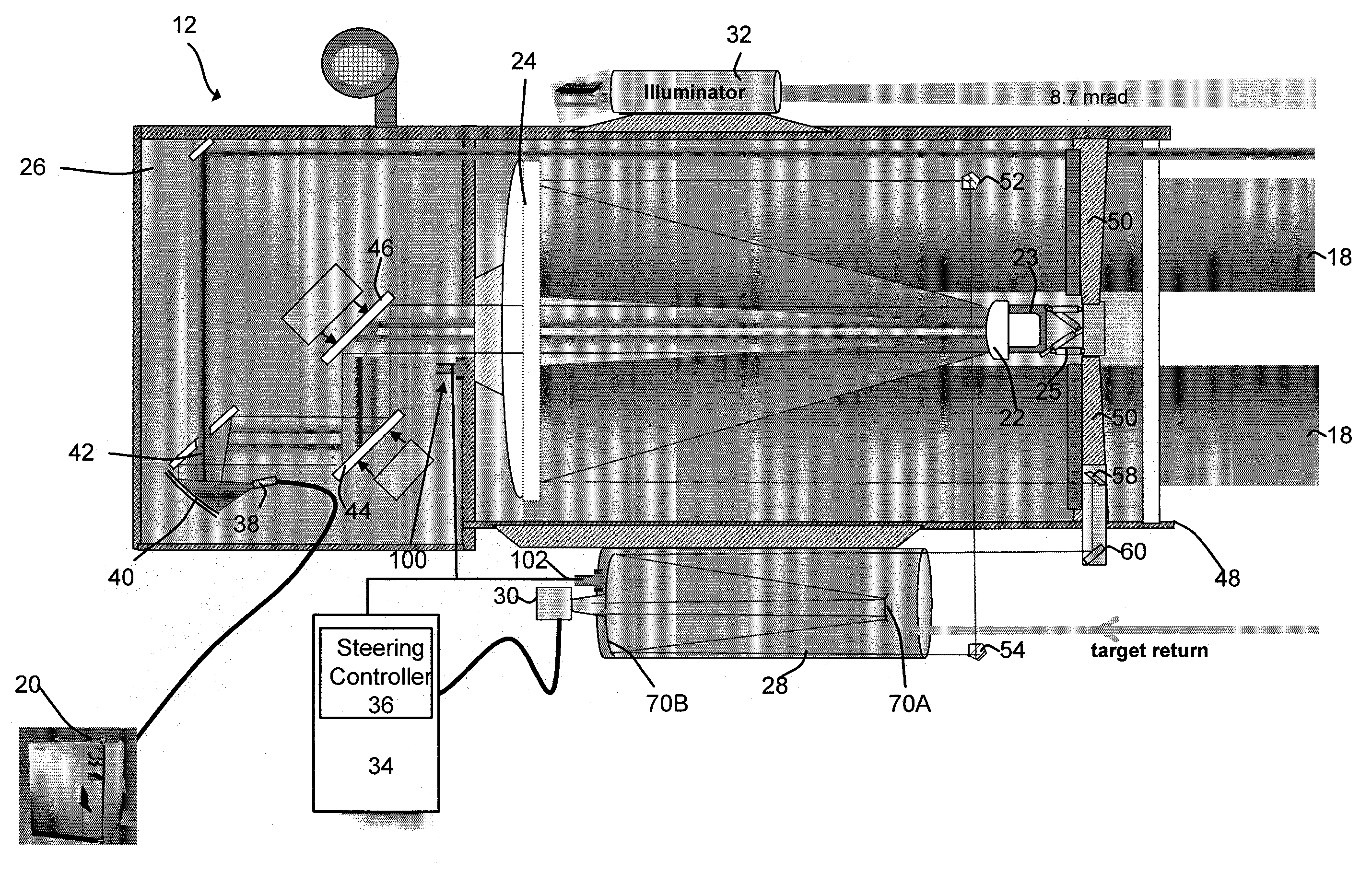 Patent Us8203109 High Energy Laser Beam Director System