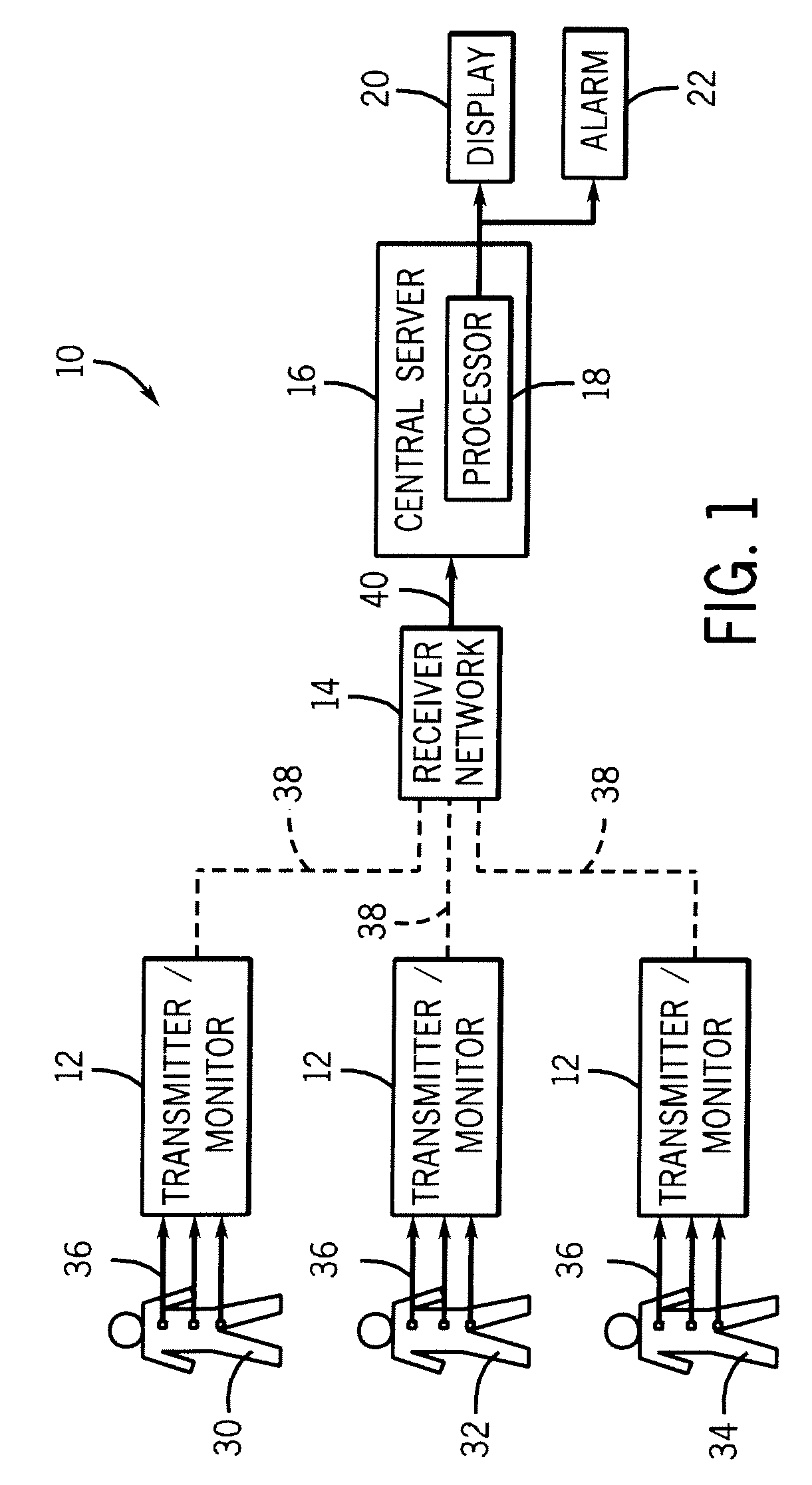 patent us8203447 - telemetry system and method