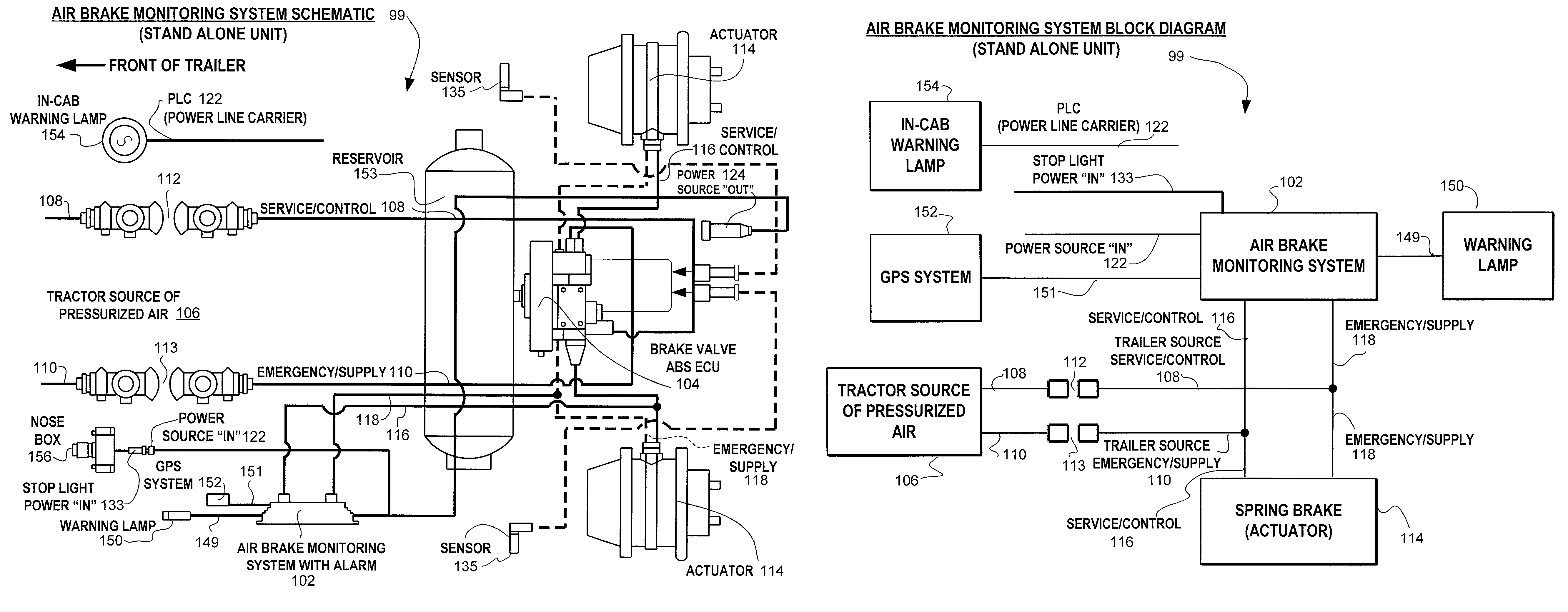 US8204668 on 7 wire trailer wiring diagram with brakes