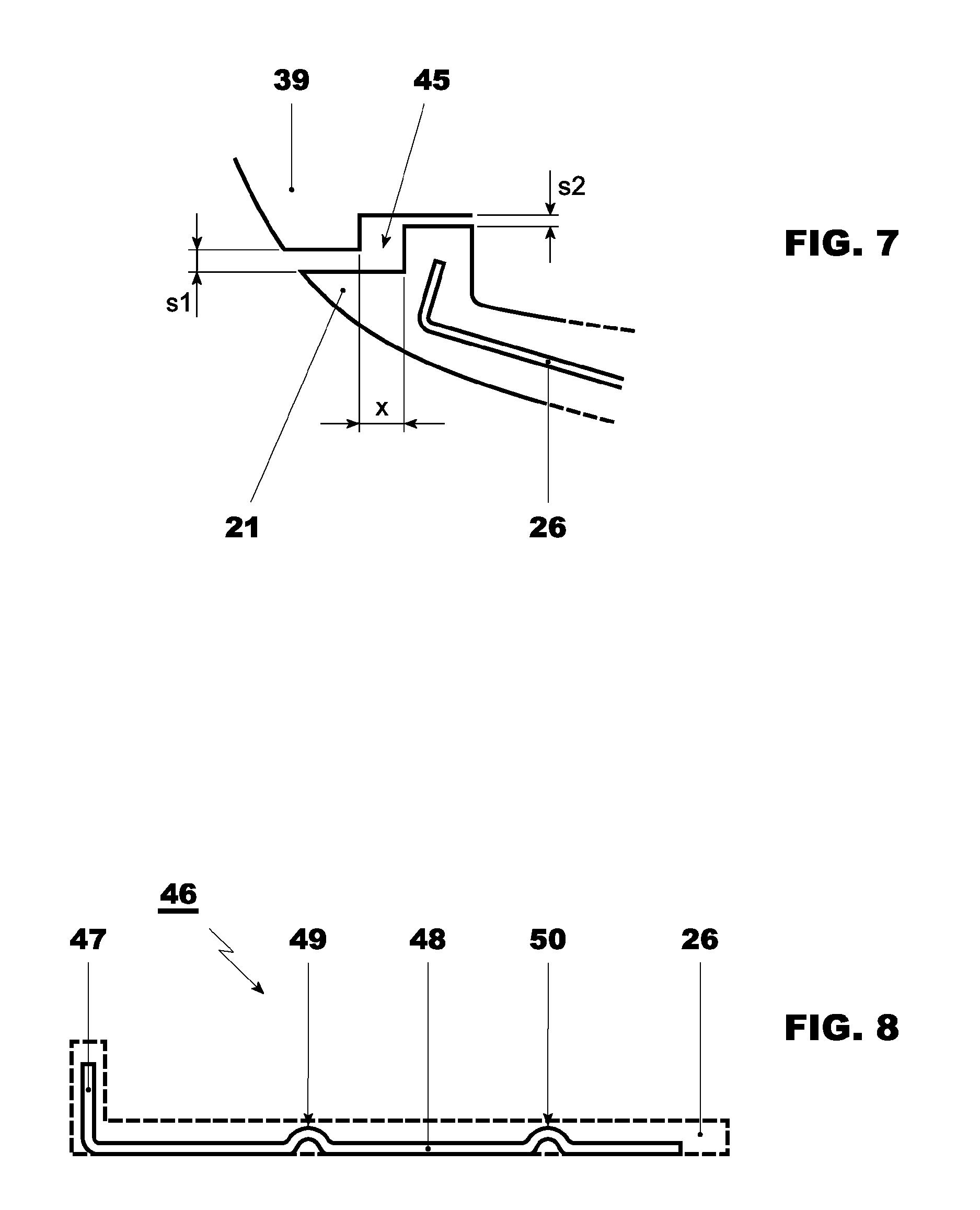 Patent US Gas turbine with a stator blade Google