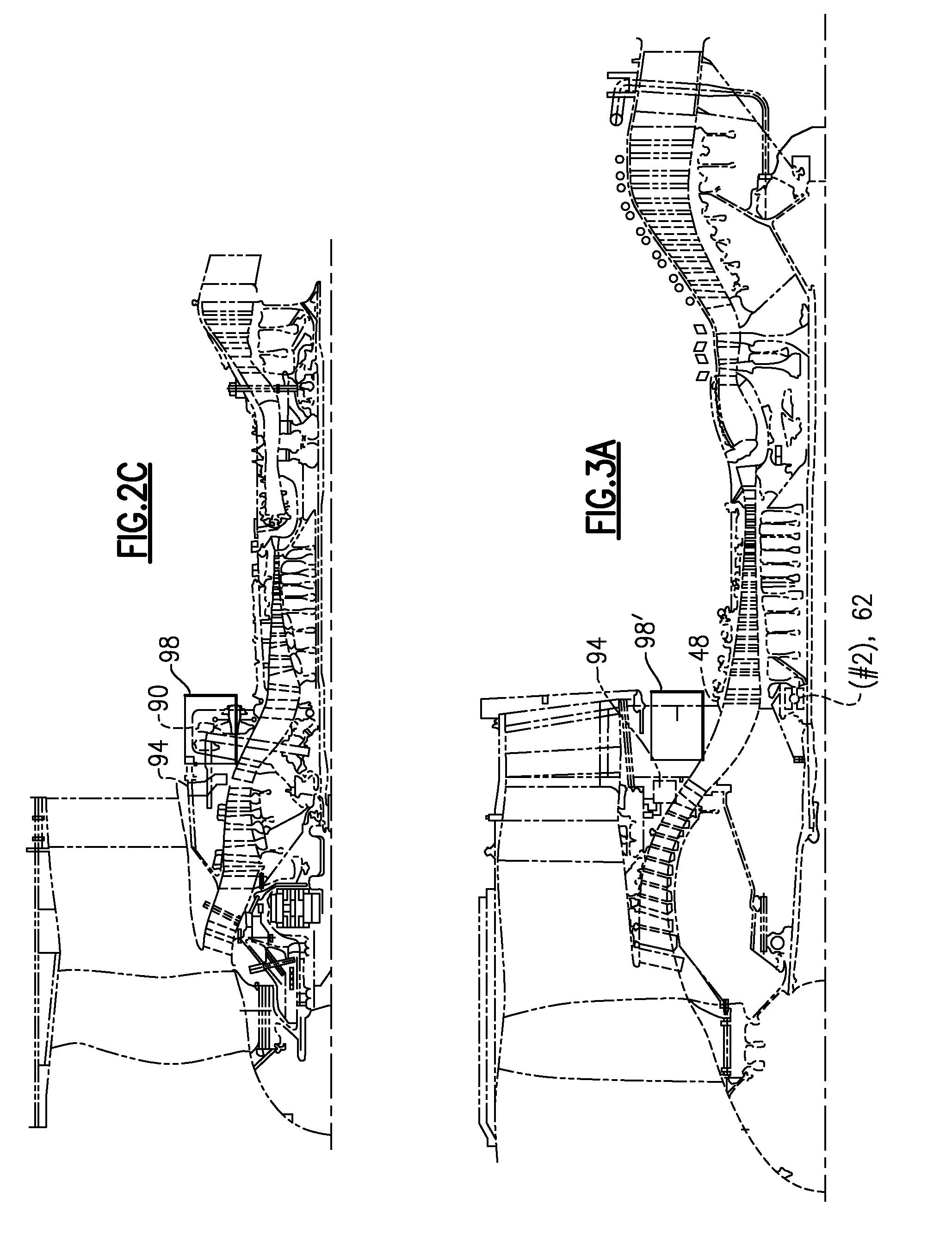 Patent US Integrated actuator module for gas turbine