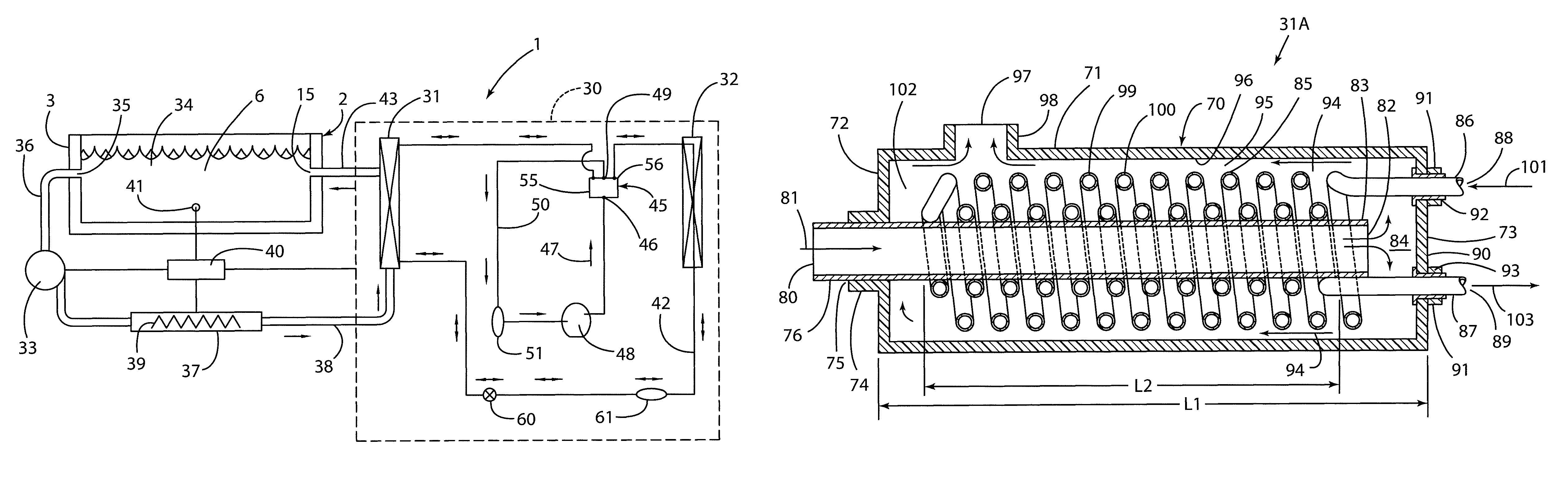 Patent Us8214936 Spa Having Heat Pump System Google Patents Saturn Lw300 Engine Piston Diagram Drawing
