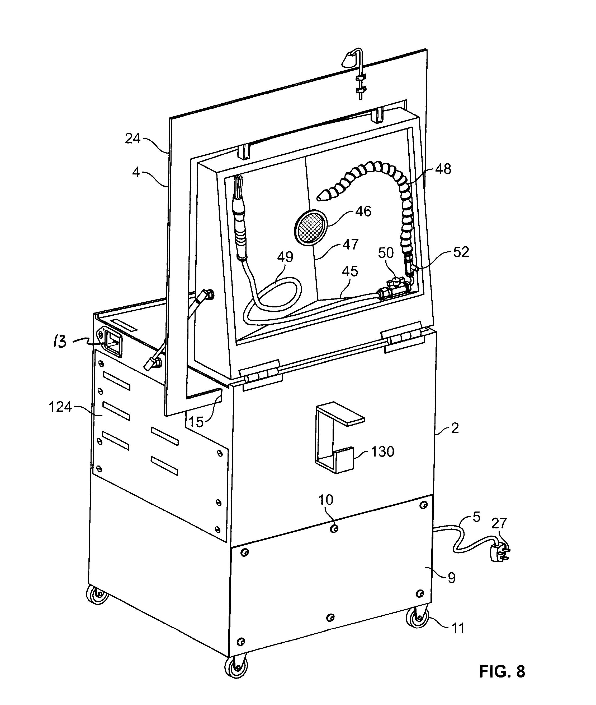 Patent Us8220471 Multipurpose Aqueous Parts Washer