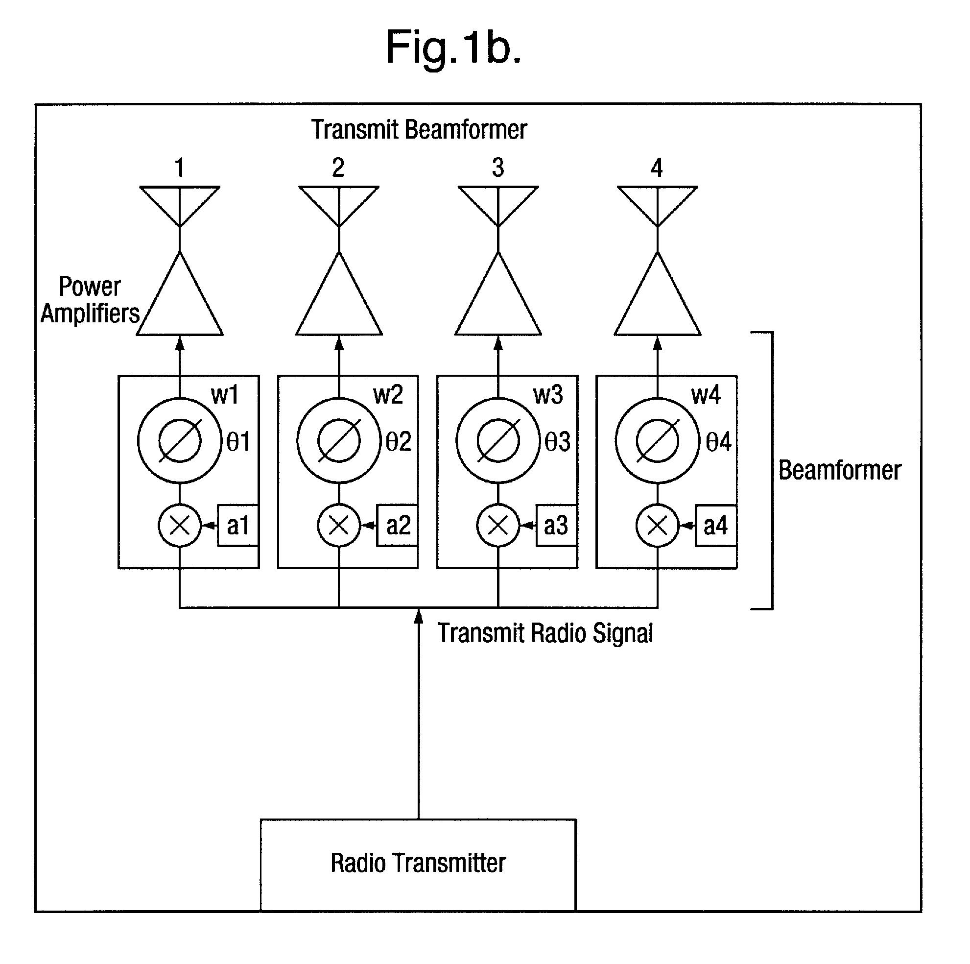 براءة الاختراع US8224387 - Beamforming system and method
