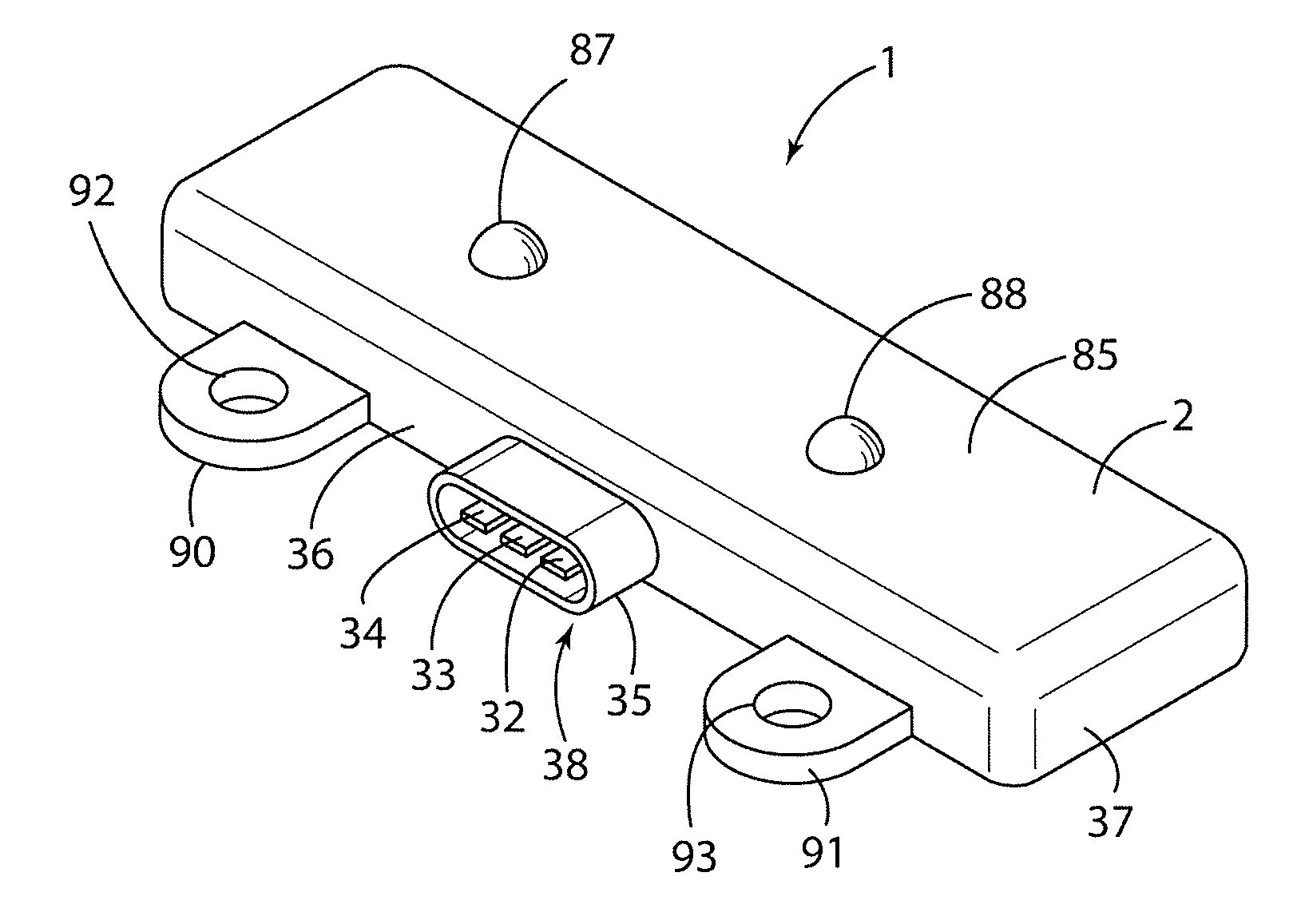 Patent Us8230575 Overmolded Circuit Board And Method Google Patents Multi Grooved Wiring Drawing
