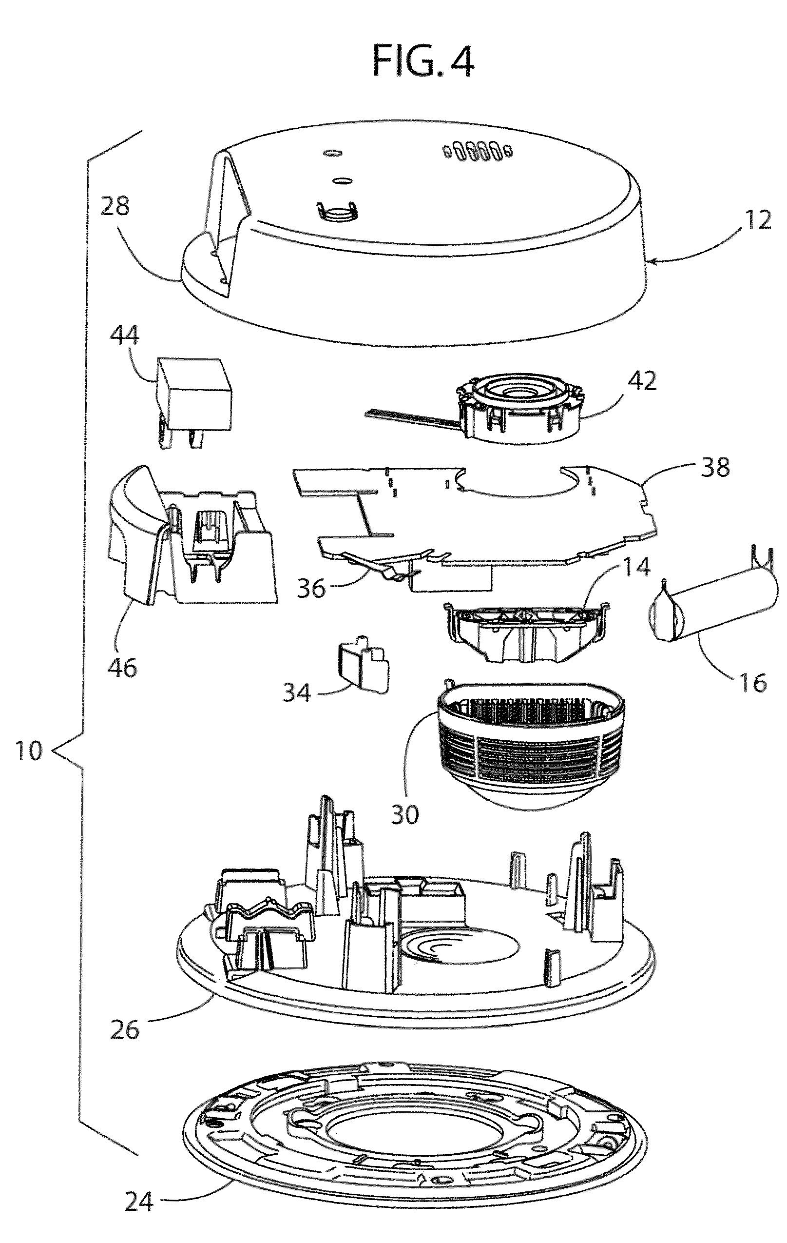 Smoke Detector Circuit Diagram Including Patent Us4792797 Alarm Us8232884 Carbon Monoxide And Detectors Having