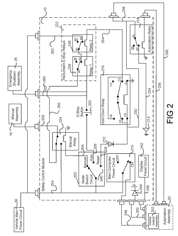 patent us8237389 multi mode safety module patents