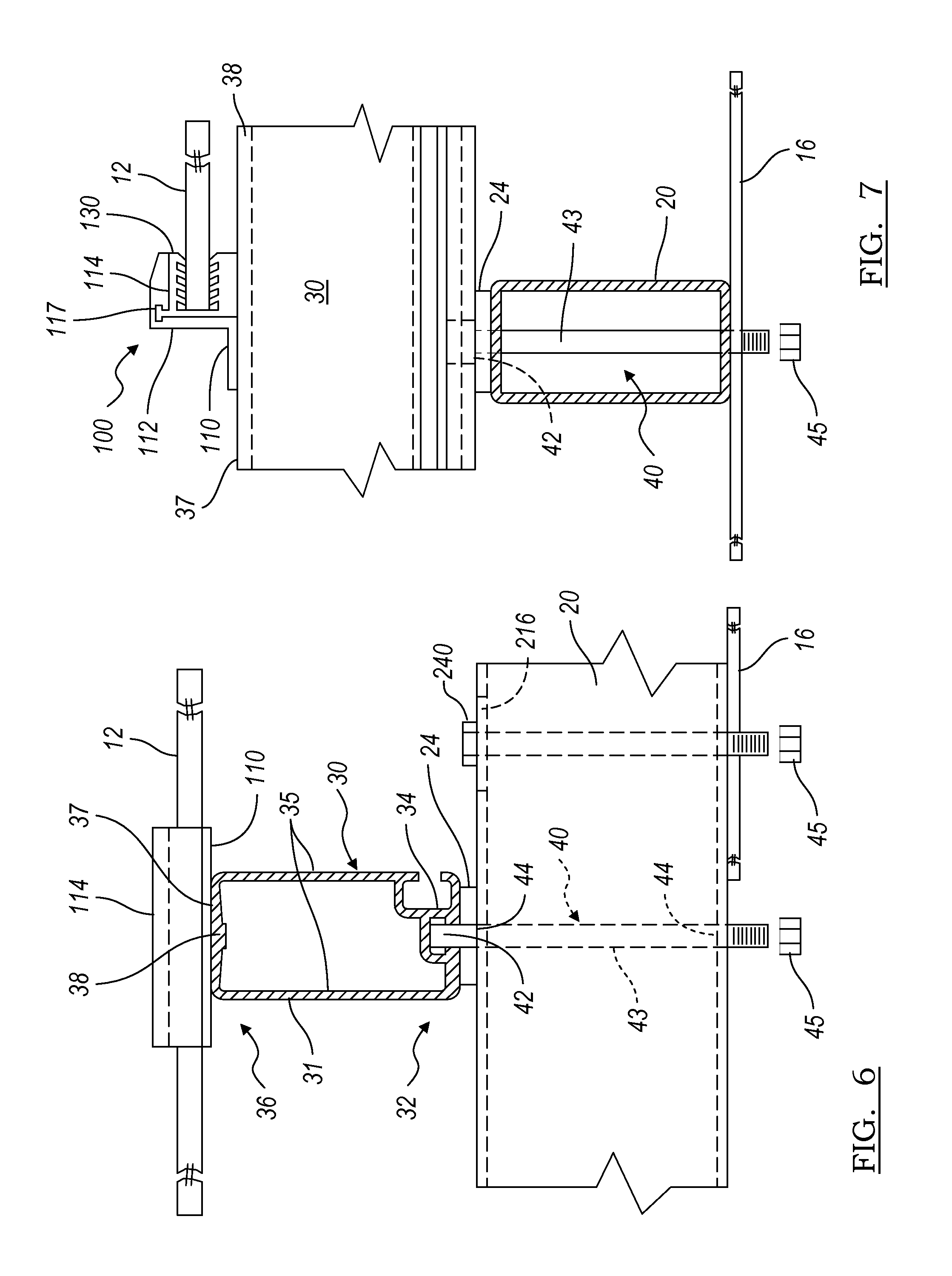 Patent Us8240109 Support System For Solar Panels