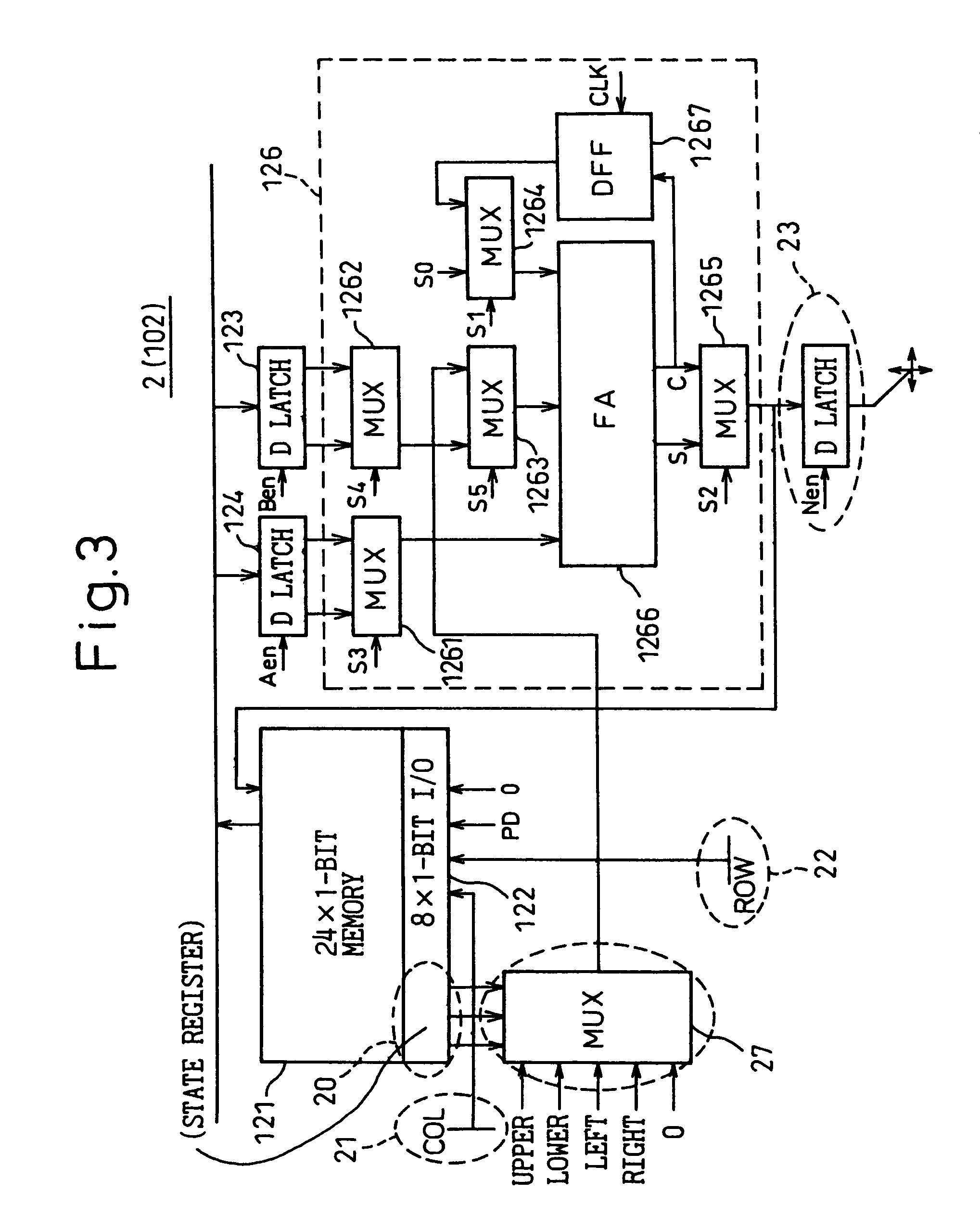 Us8244788 Semiconductor Integrated Circuit Device D Latch Diagram Patent Drawing