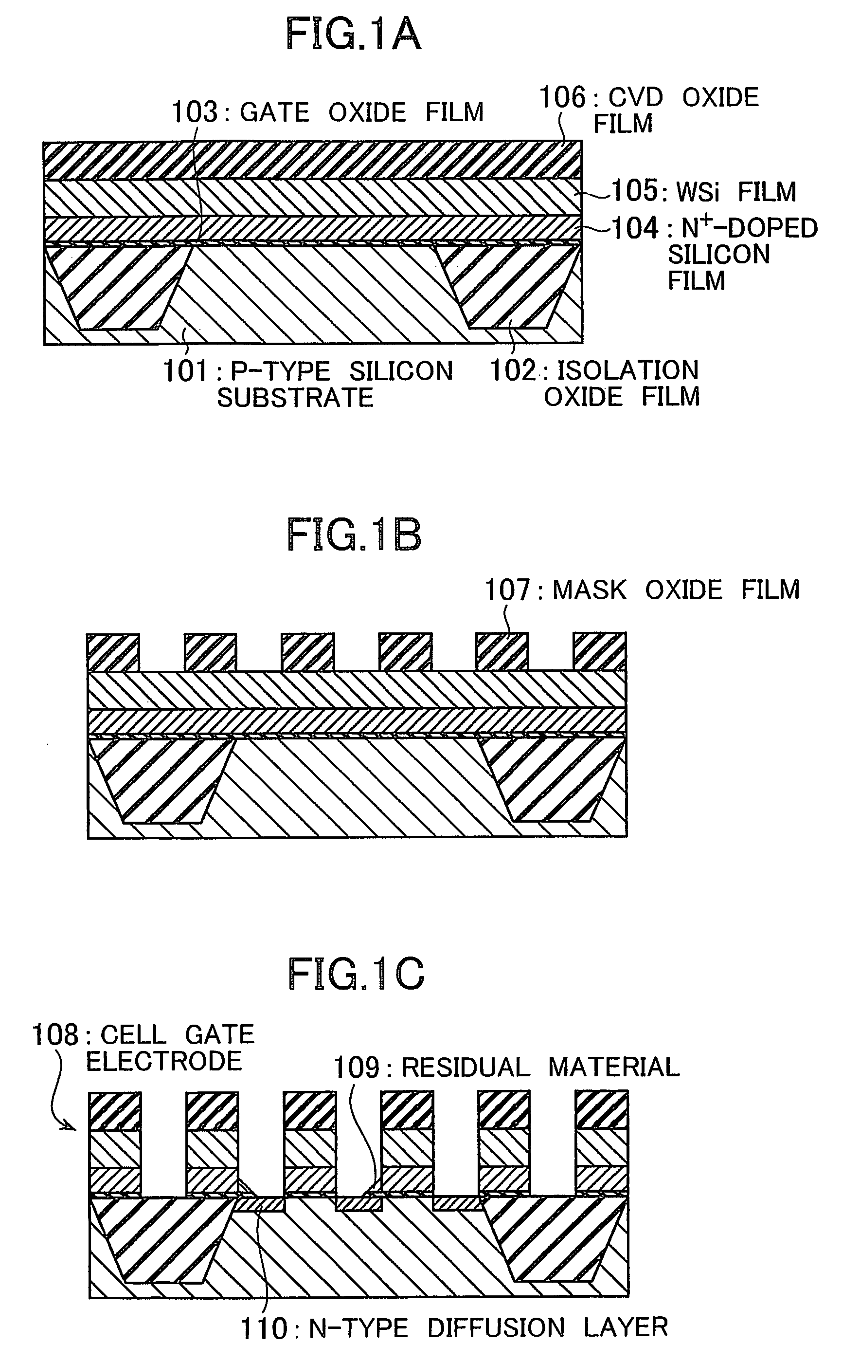 Patent US8247851 - Method of manufacturing semiconductor