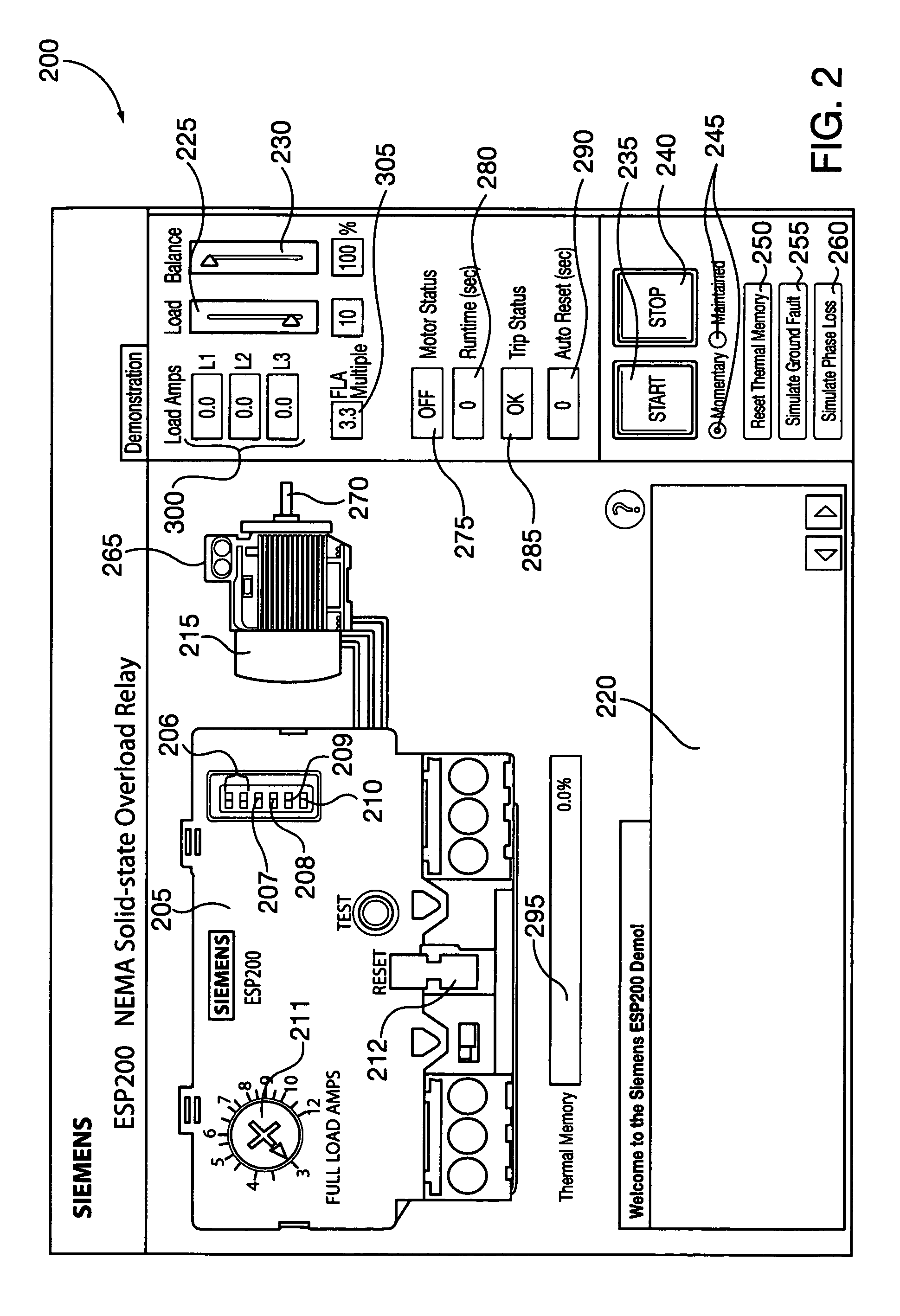 patent us8255200 - circuit protection and control device simulator