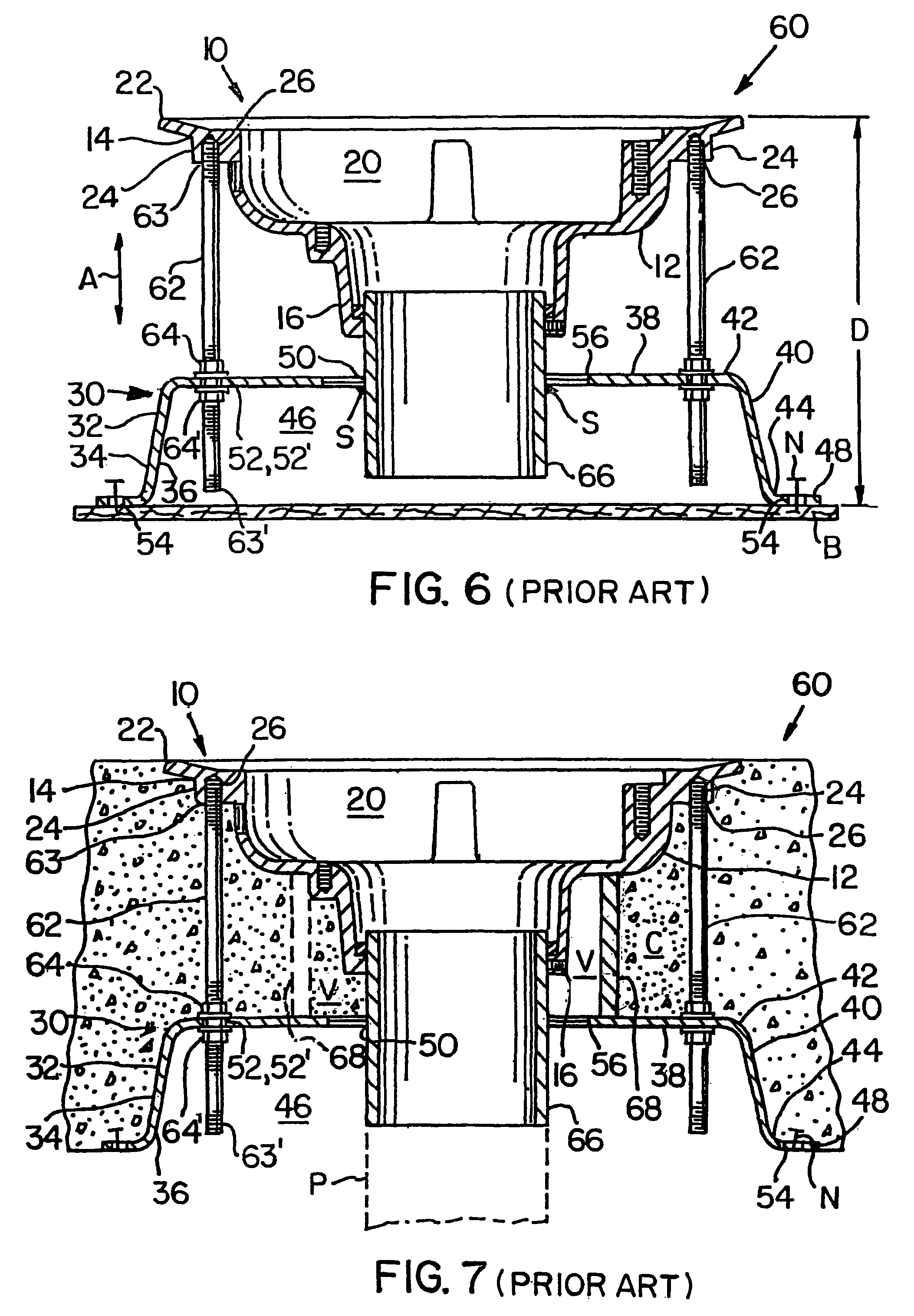 Patent Us8261379 Modified Deck Plate For Use With