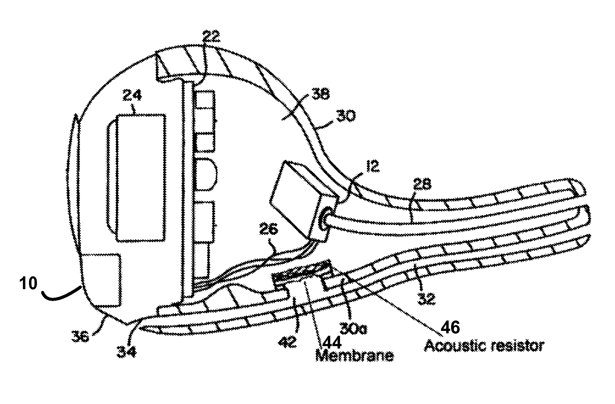 patent us8265316 - hearing aid with enhanced vent
