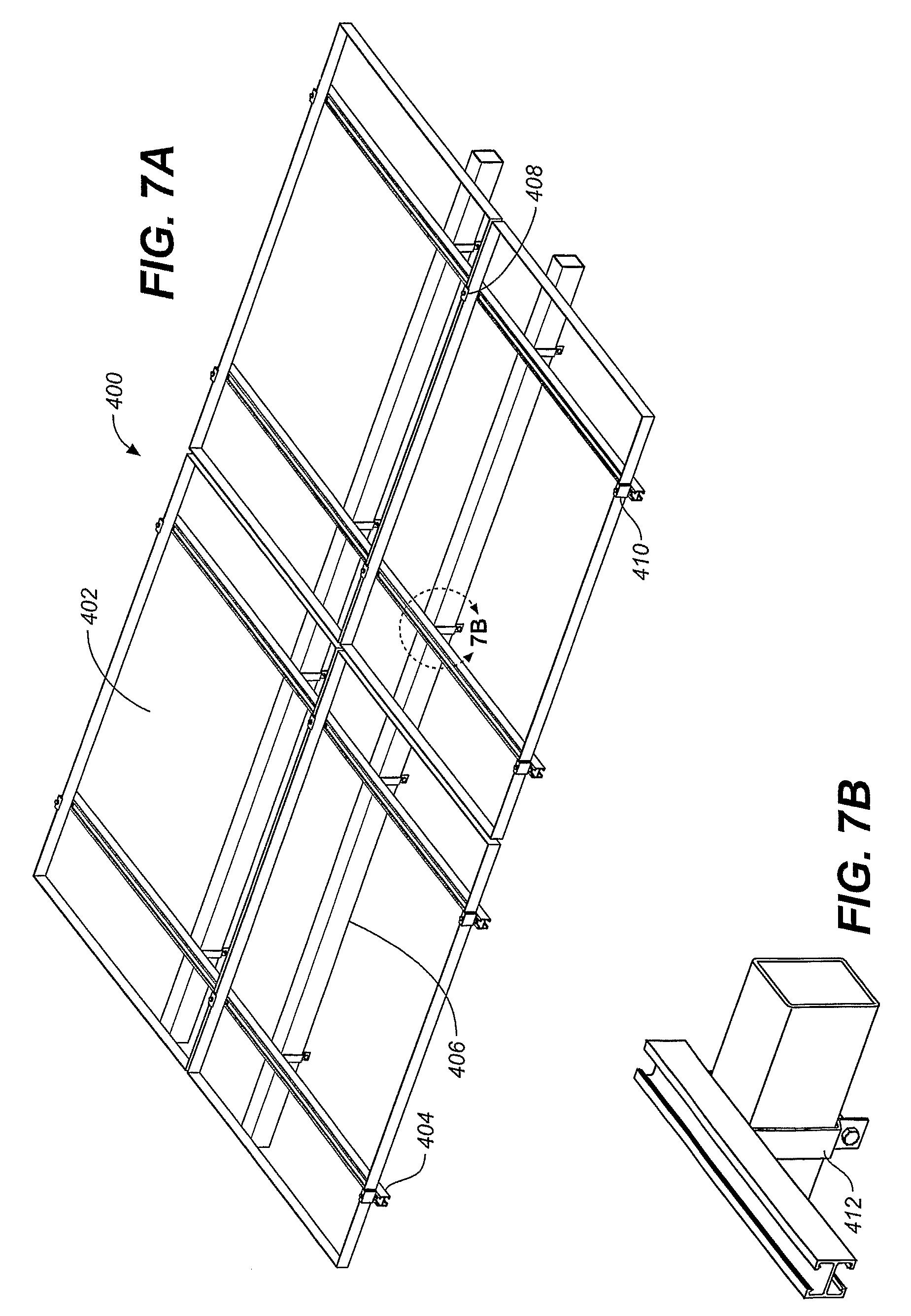 Patent Us8273978 Solar Panel Array Sun Tracking System