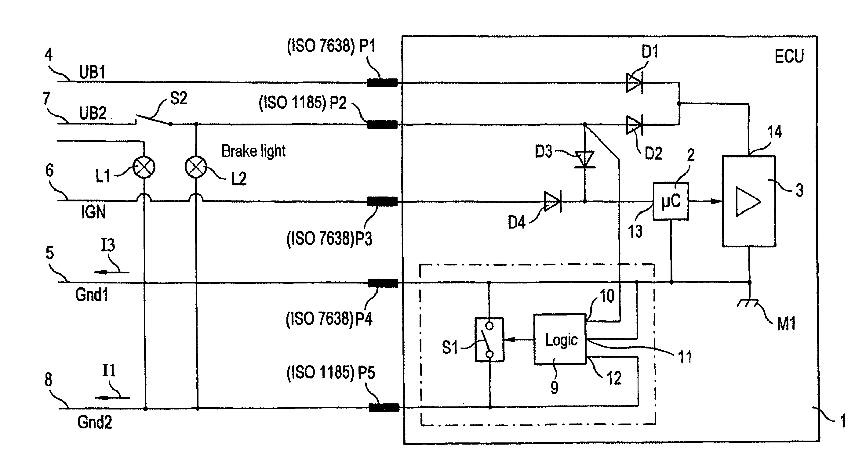 Iso Wiring Harness Diagram 26 Images Diagrams 7638 23