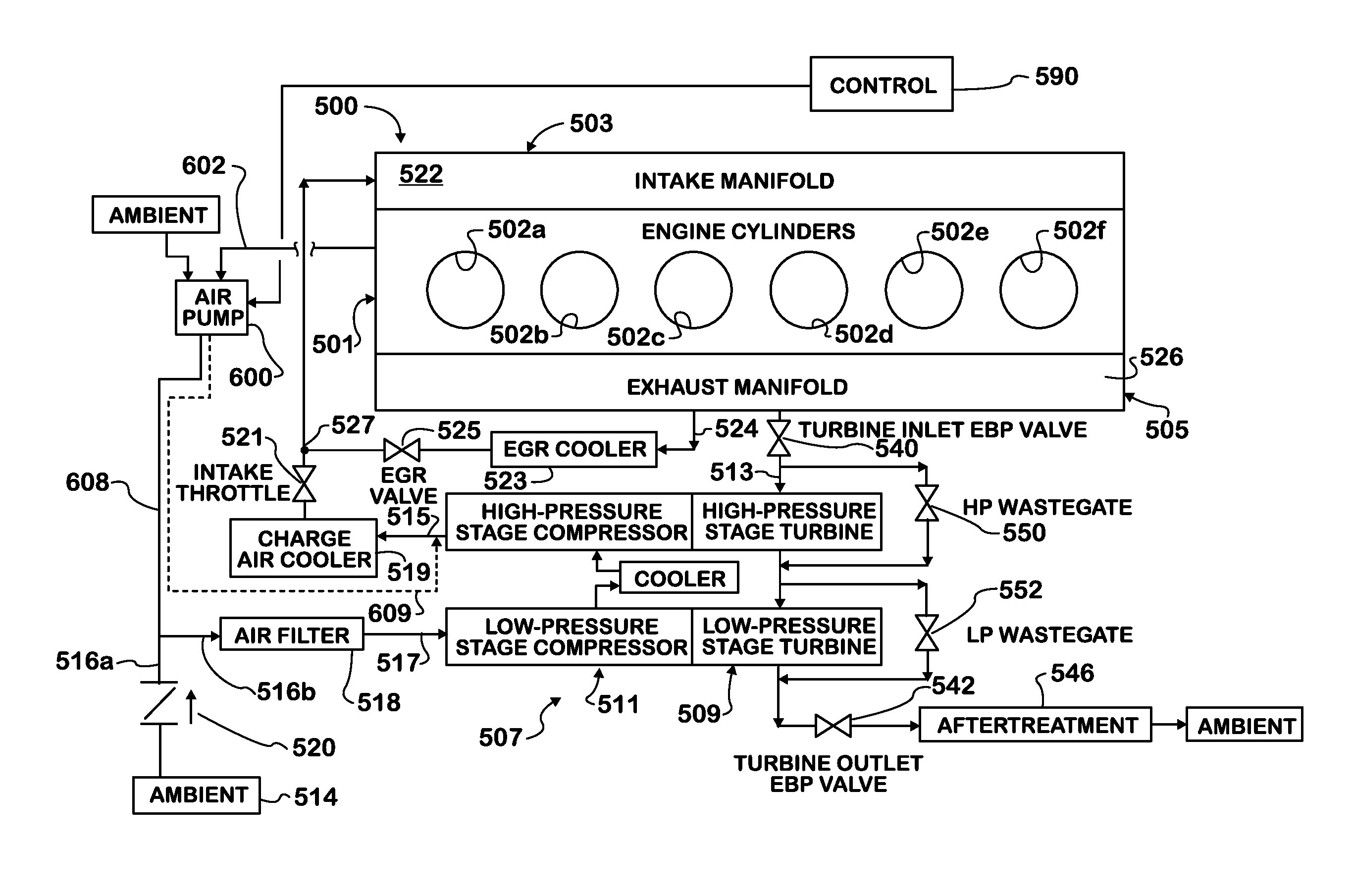 jacobs engine brake wiring diagram patent us8281587 - supercharged boost-assist engine brake ... #15
