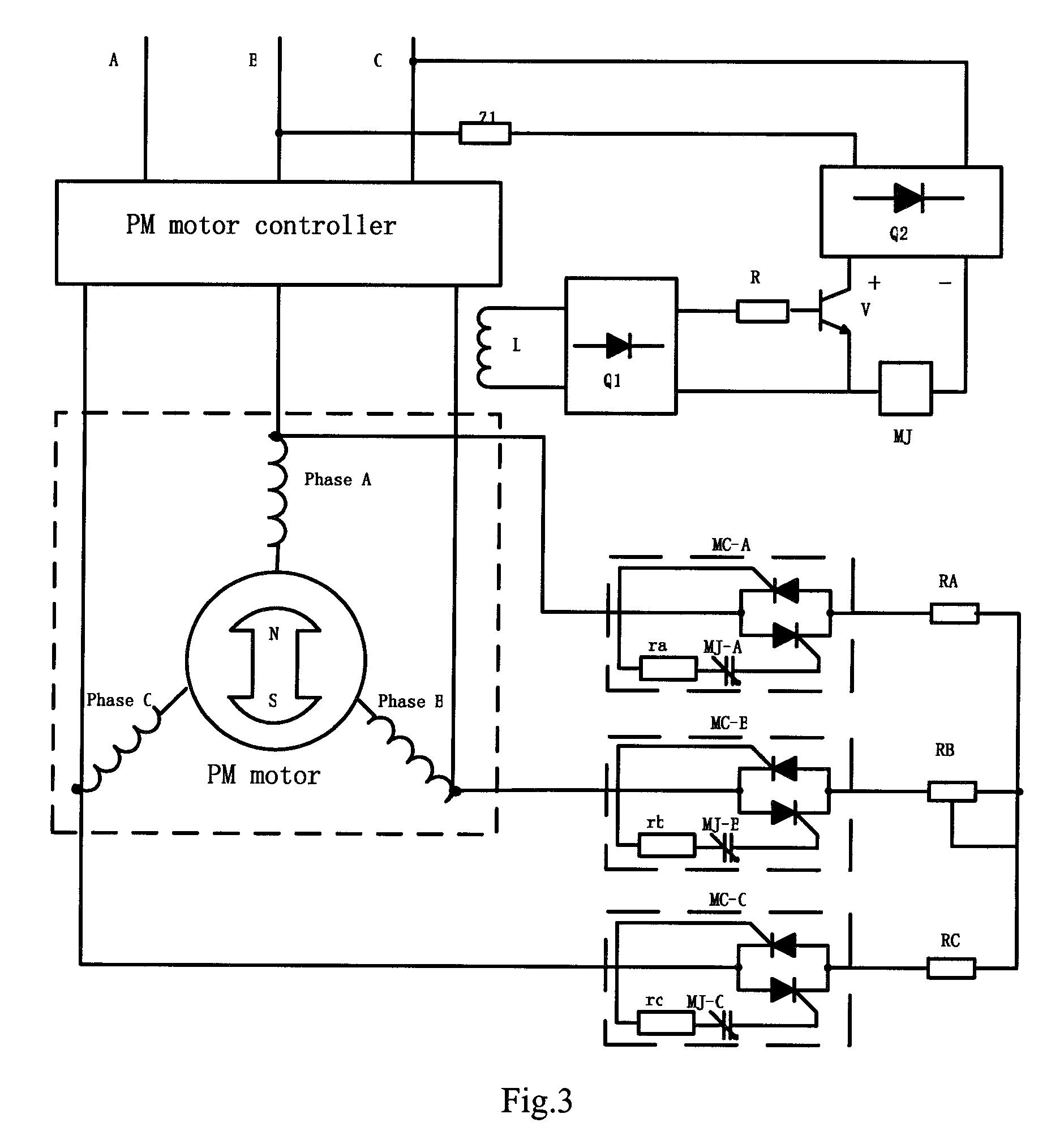 regenerative braking of bldc motor
