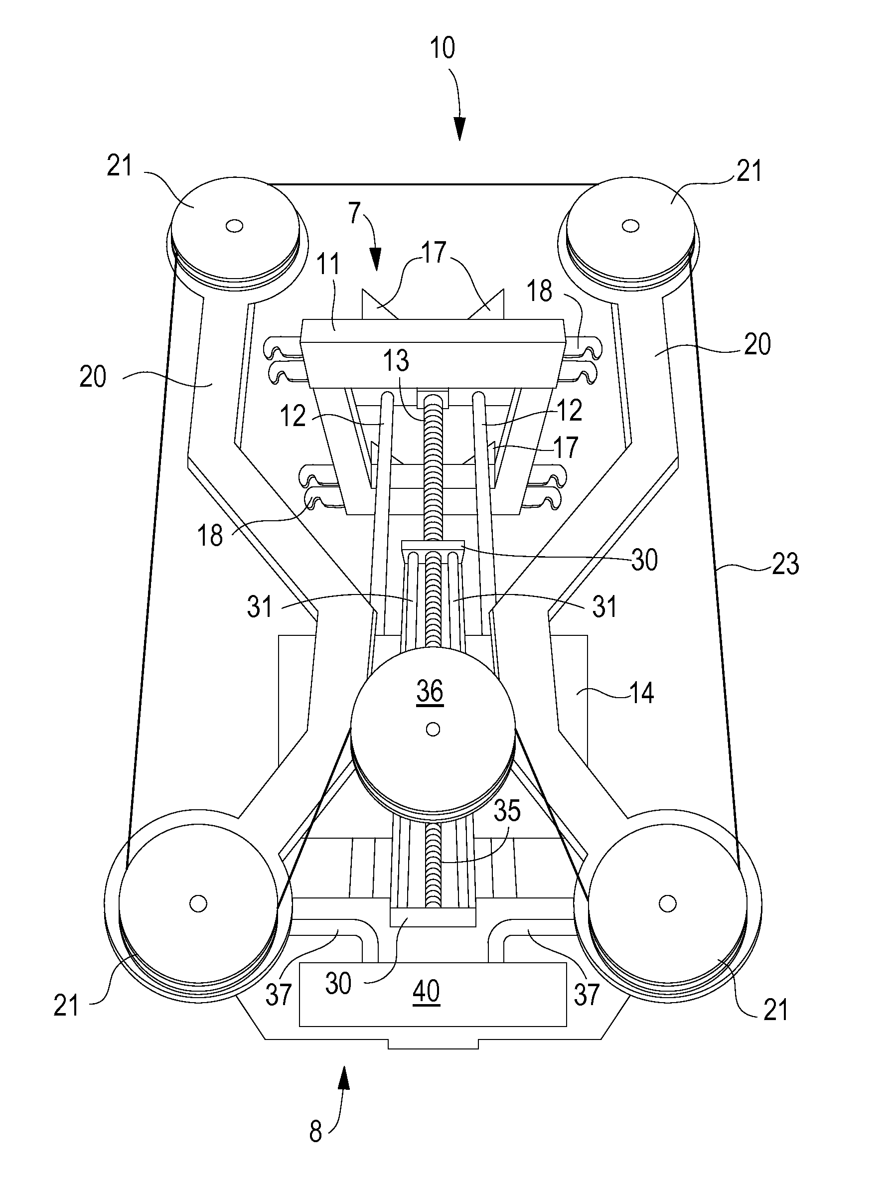 patent us8286625 underwater diamond wire saw assembly patents Photo Cell Wire Diagram patent drawing