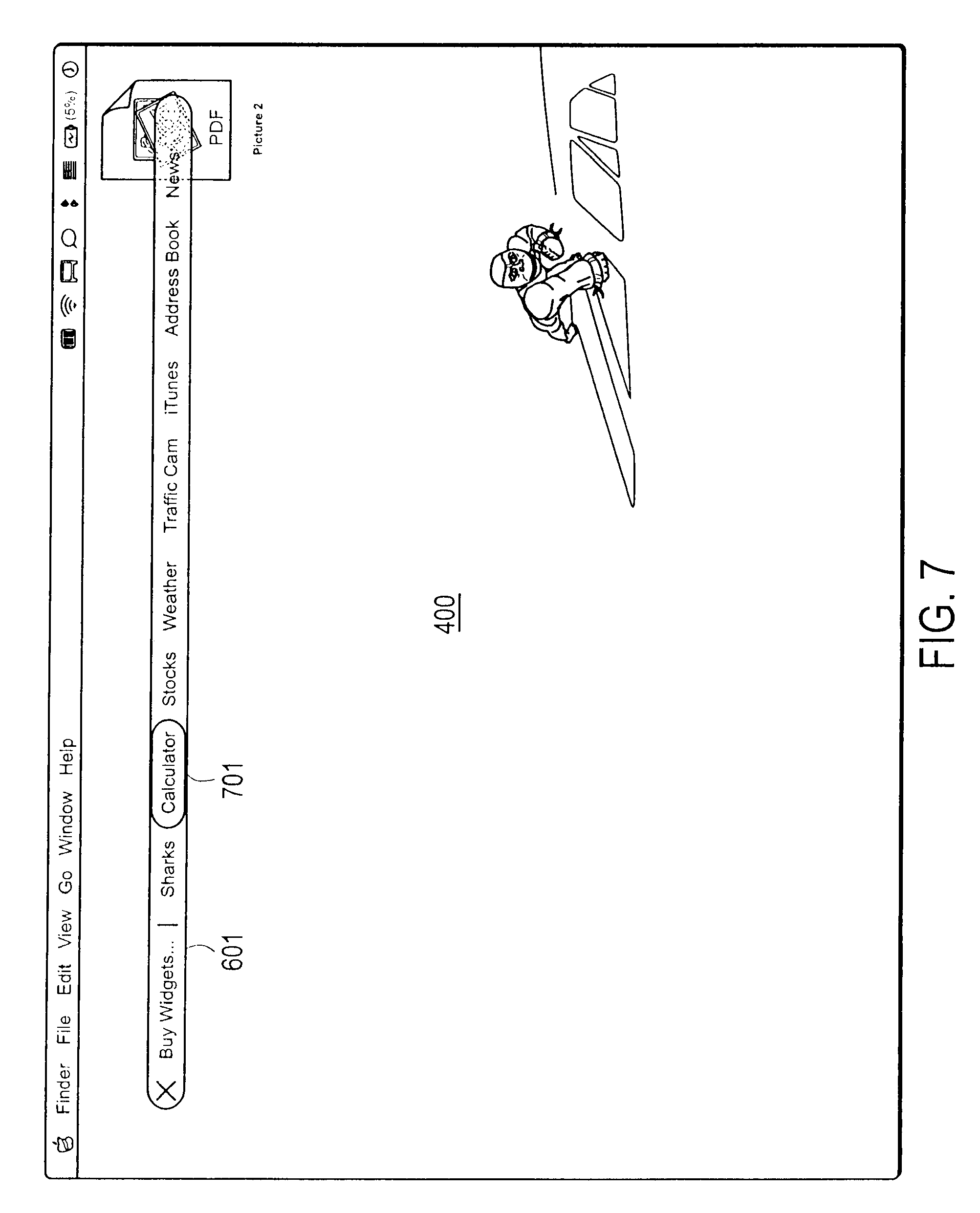 patent us8291332 layer for accessing user interface elements
