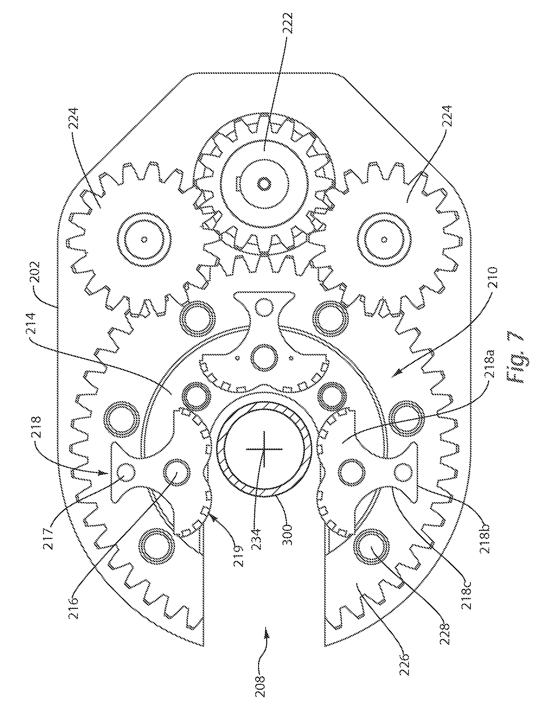 Patent us8291791 open faced rod spinning device google for Open face fishing rod