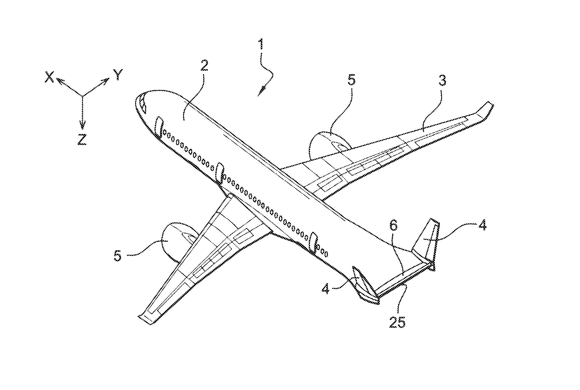 patent us8292225 airplane with flat rear fuselage said queue de morue empennage google patents. Black Bedroom Furniture Sets. Home Design Ideas