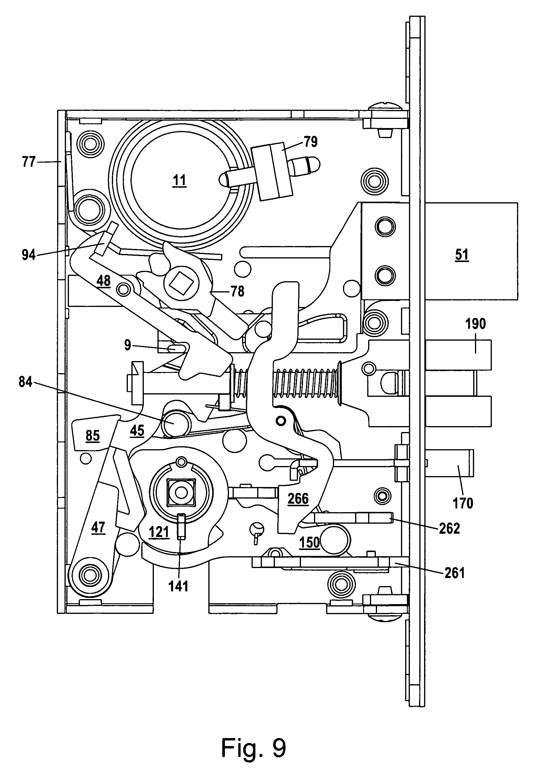Patent Us8292336 Mortise Lock Assembly Google Patents