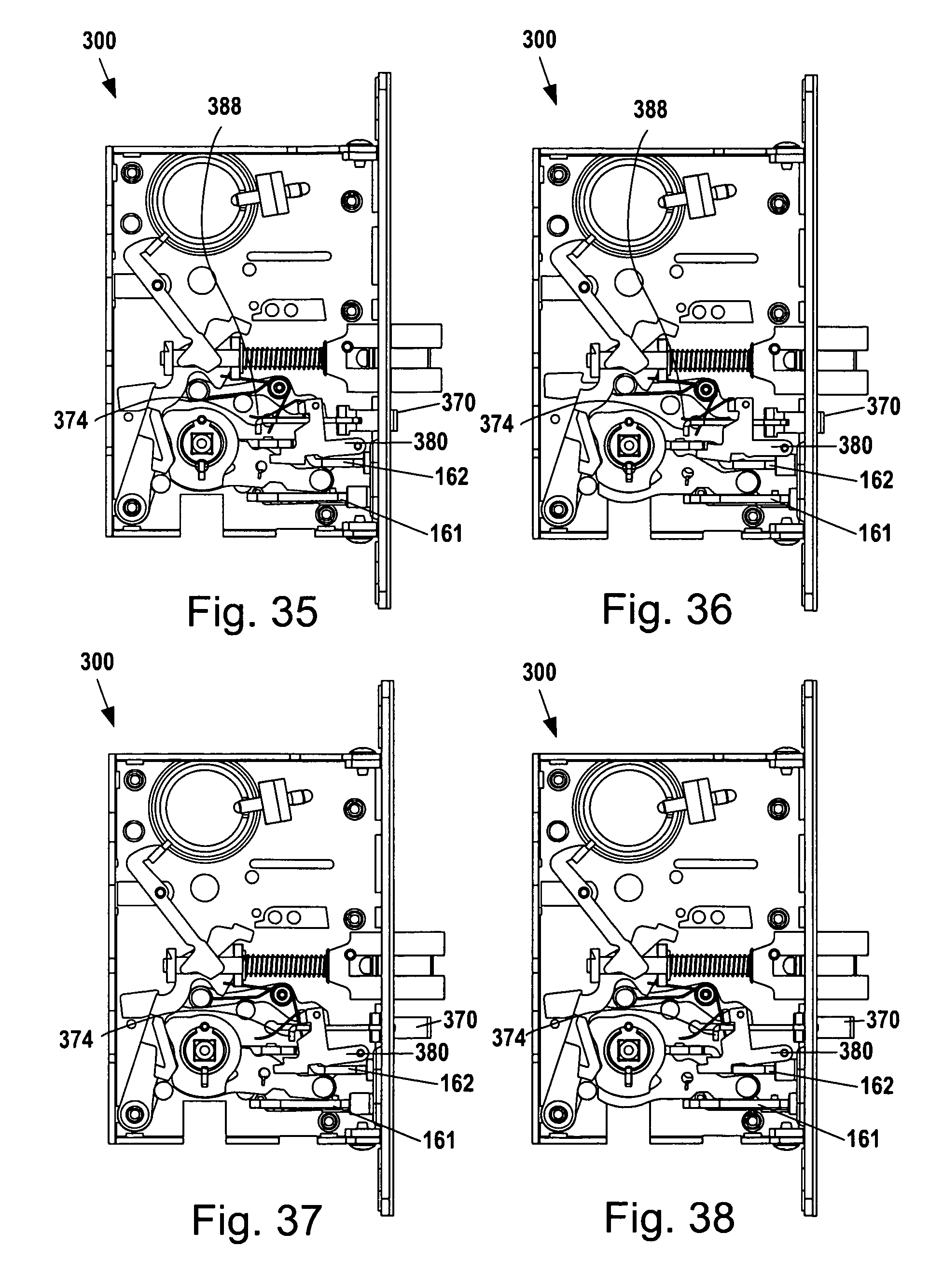 Patent Us8292336 Mortise Lock Assembly Google Patentsuche
