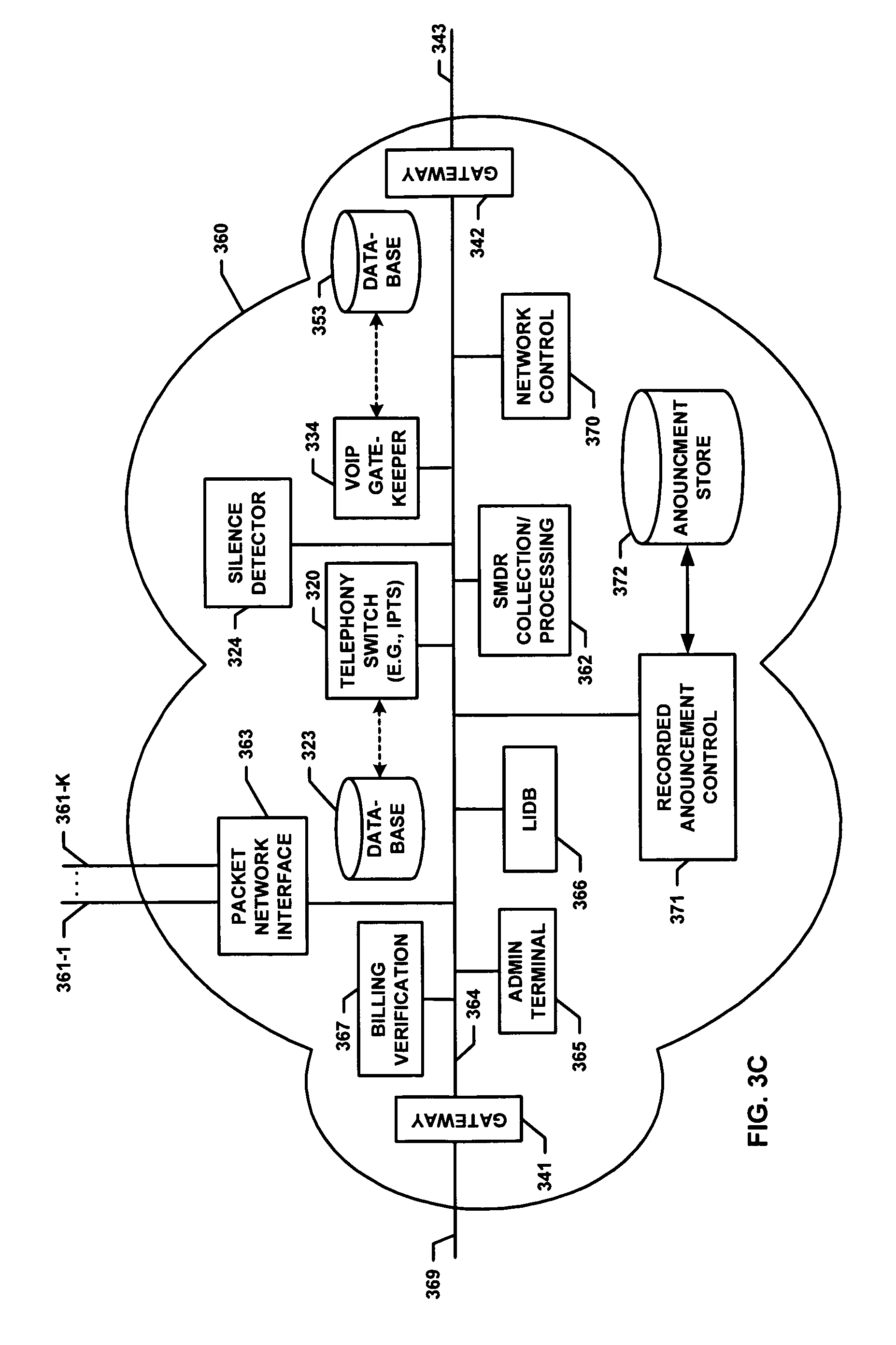 patent us8295446 telephony system and method enhanced call patent drawing