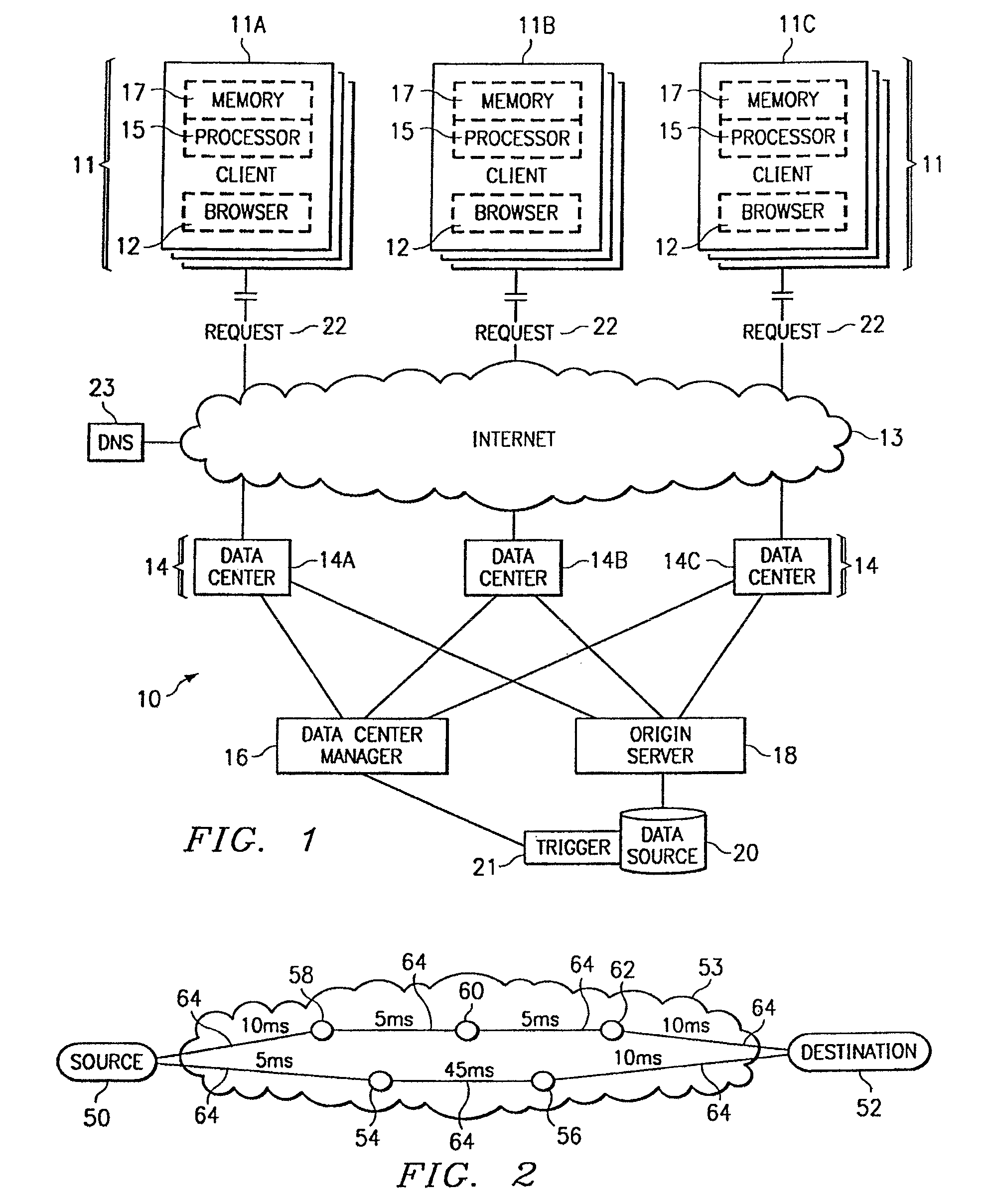 patent us8296451 method and apparatus for dynamic data flow  patent drawing