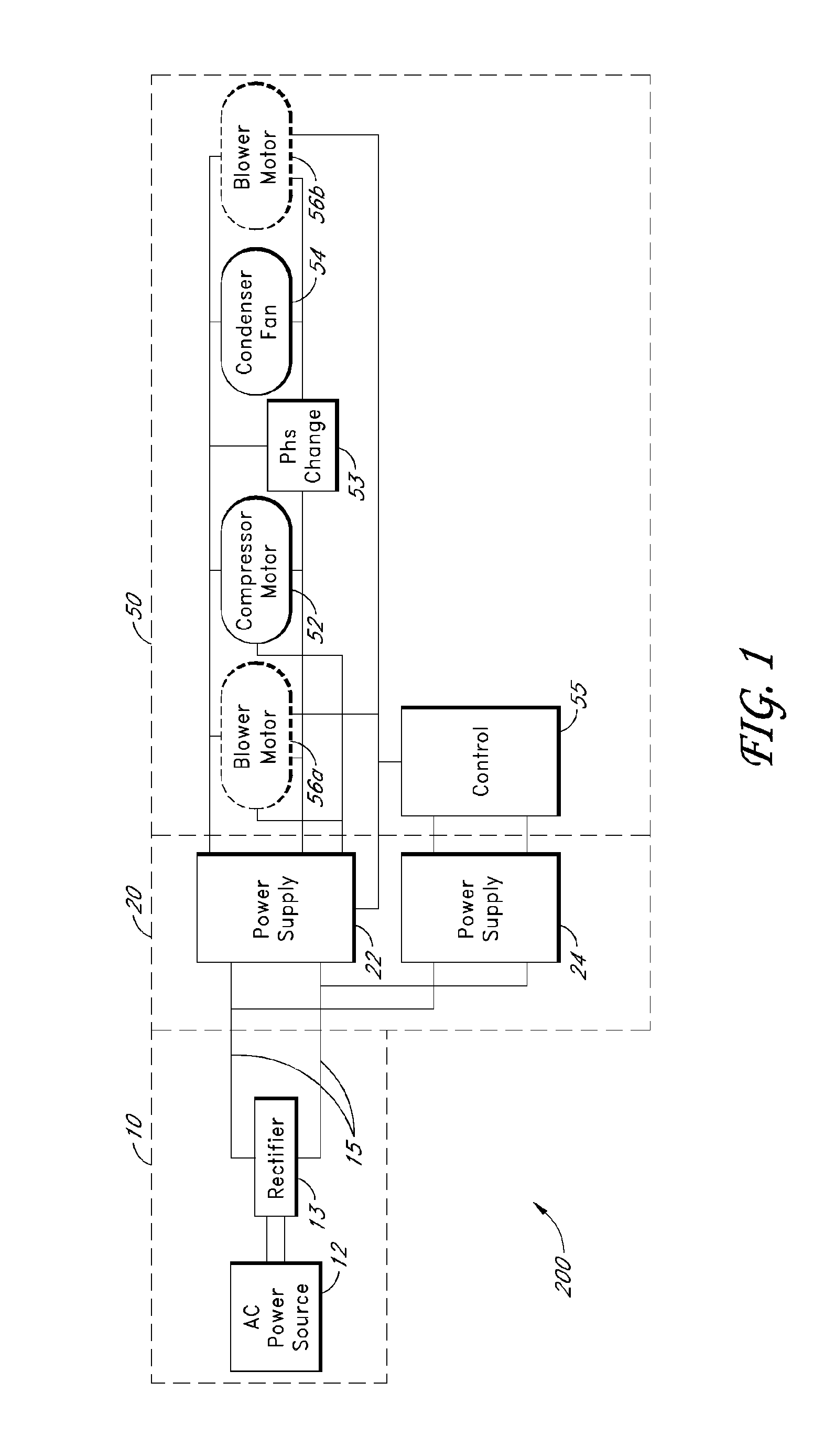 Patent Us8299646 Hvac R System With Variable Frequency