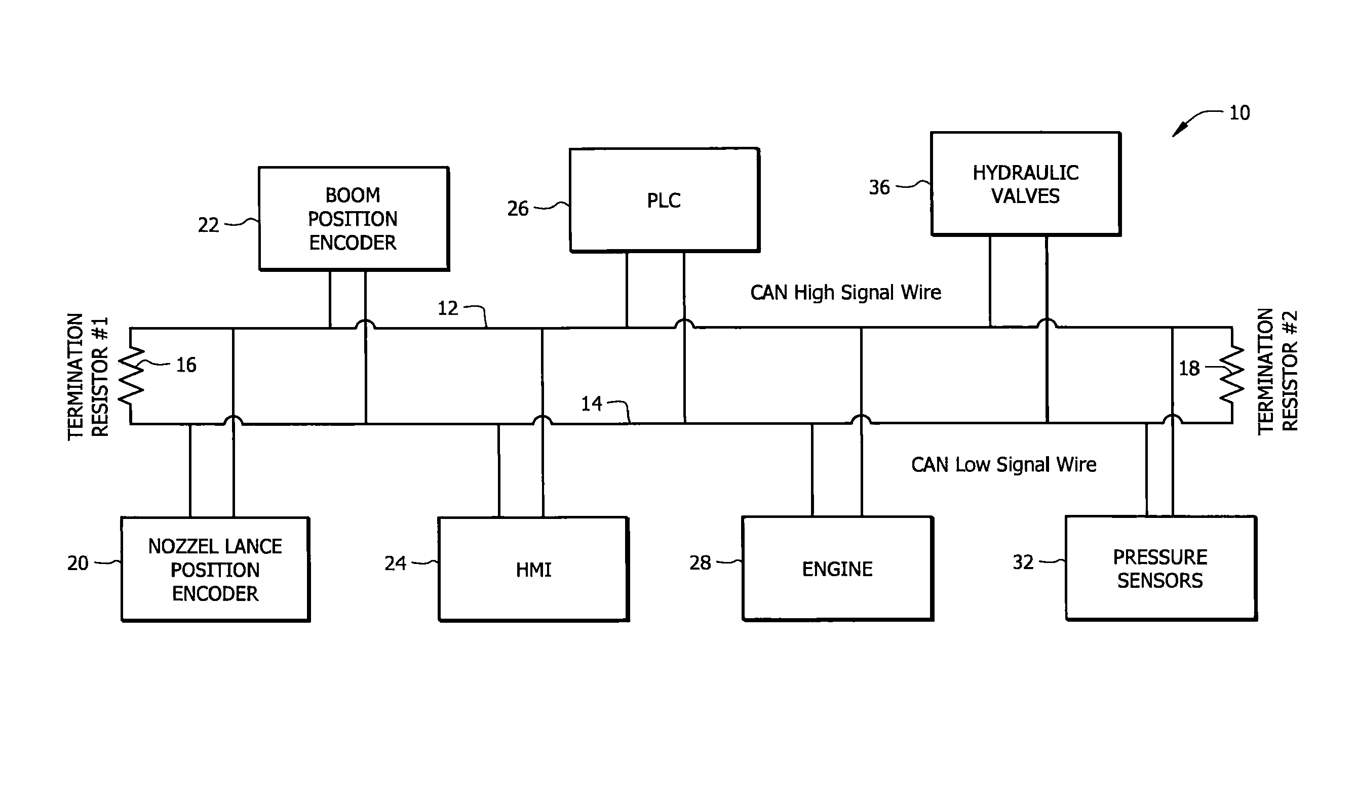 Patent US8301306 - Control system for machine that cleans