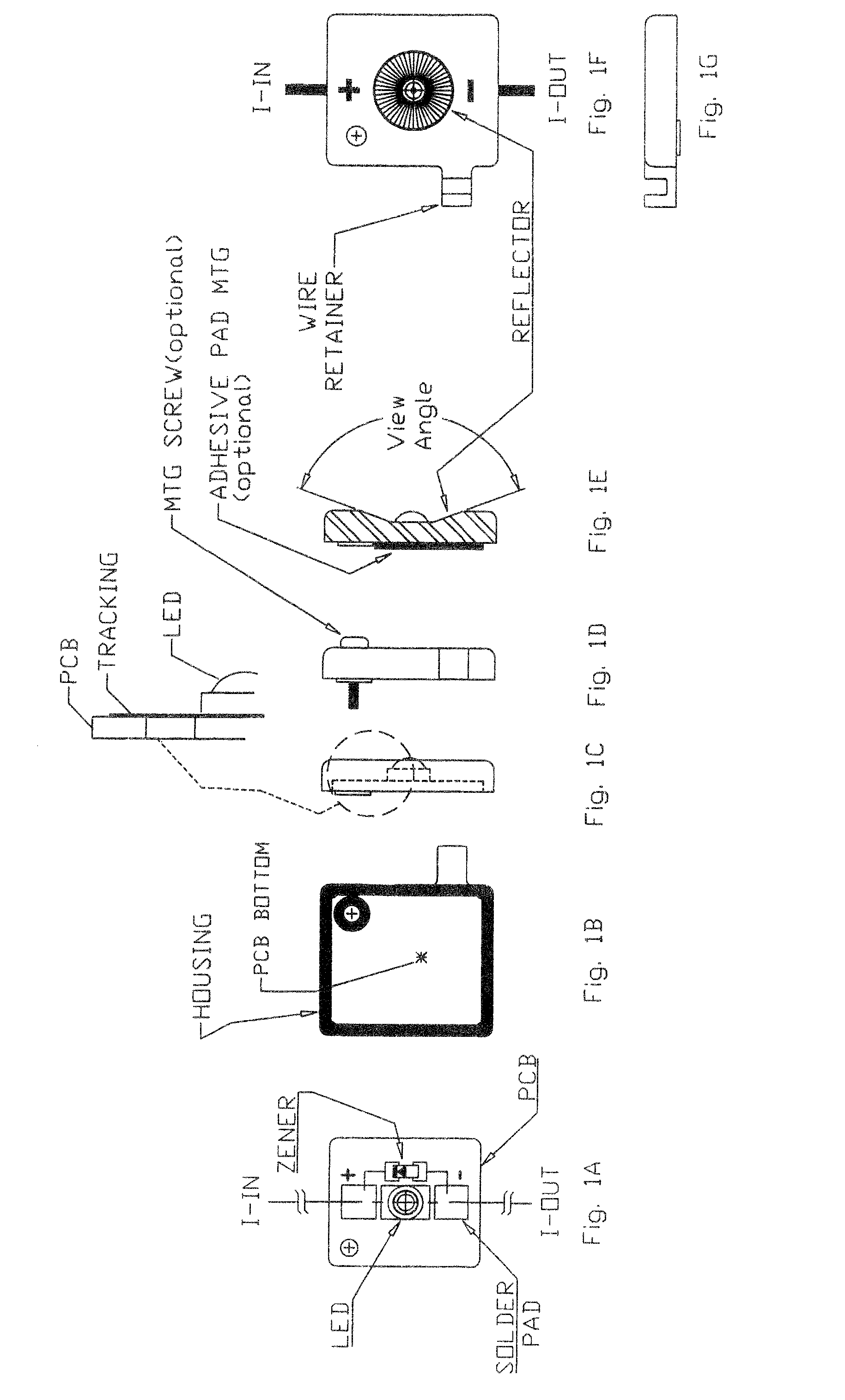 patent us led modules for sign channel letters and patent drawing