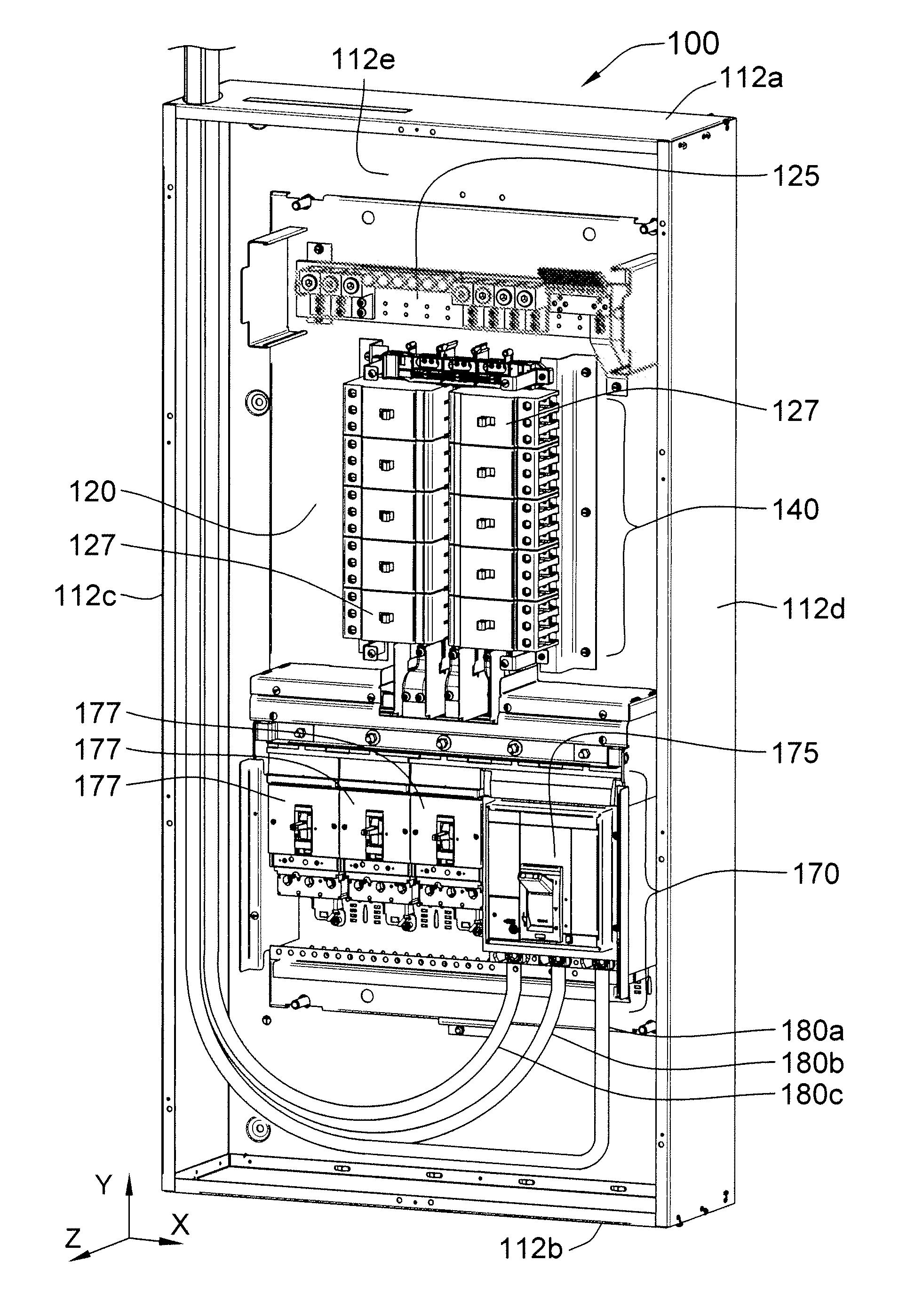 Patent Us8305739 High Density Power Lighting Panelboard