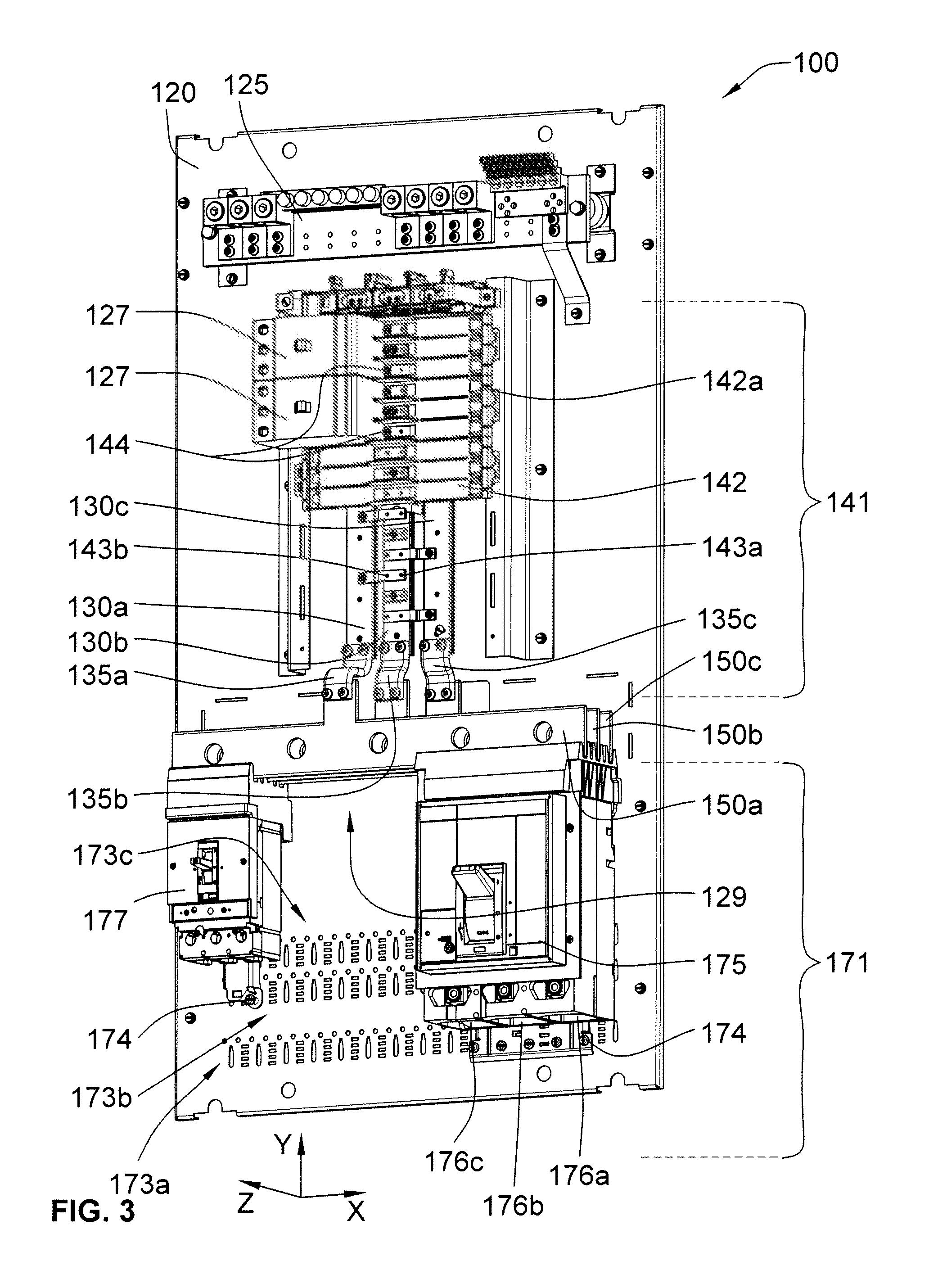 patent us8305739  lighting panelboard