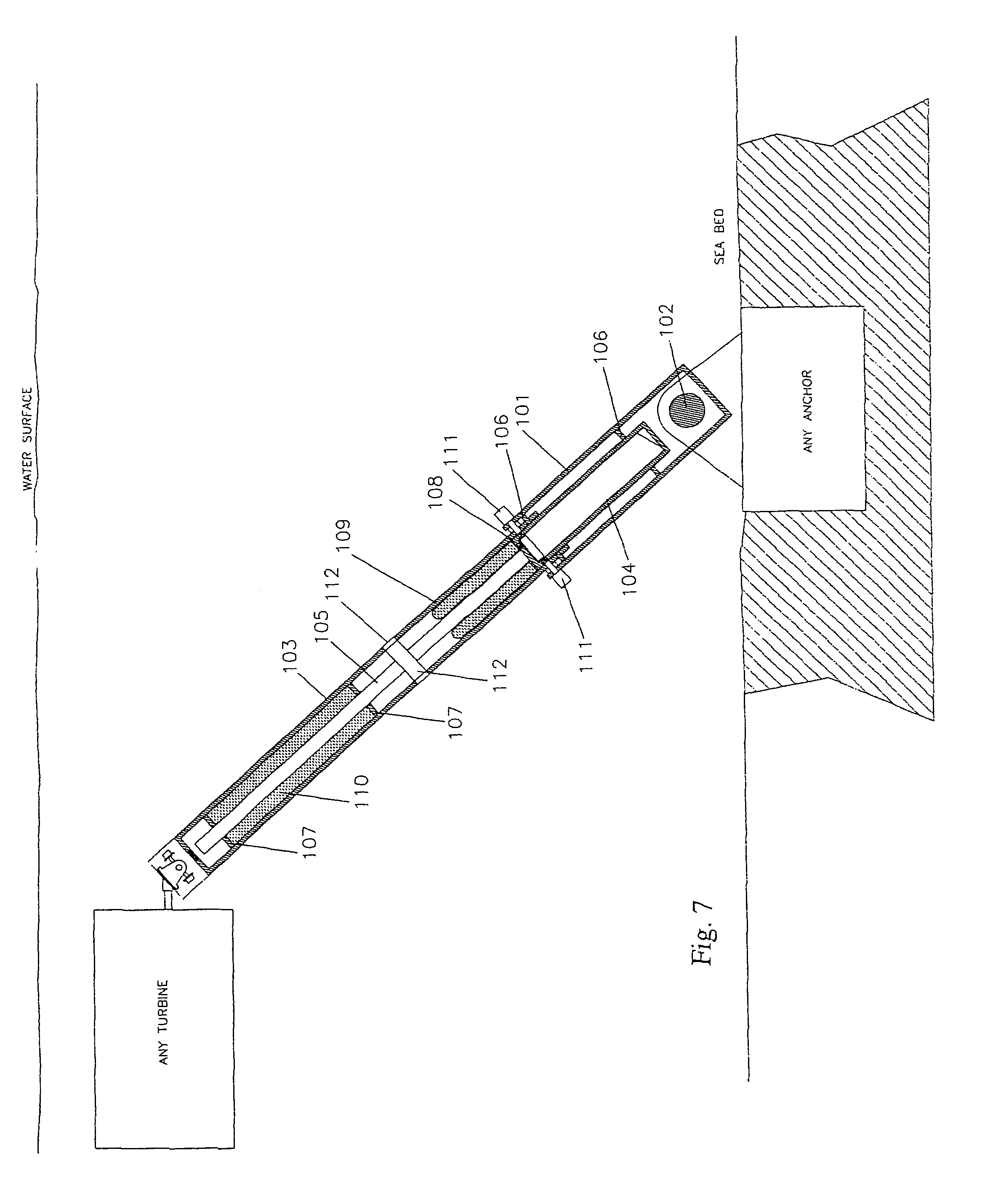 Patent US8310079 - Tidal energy system - Google Patents