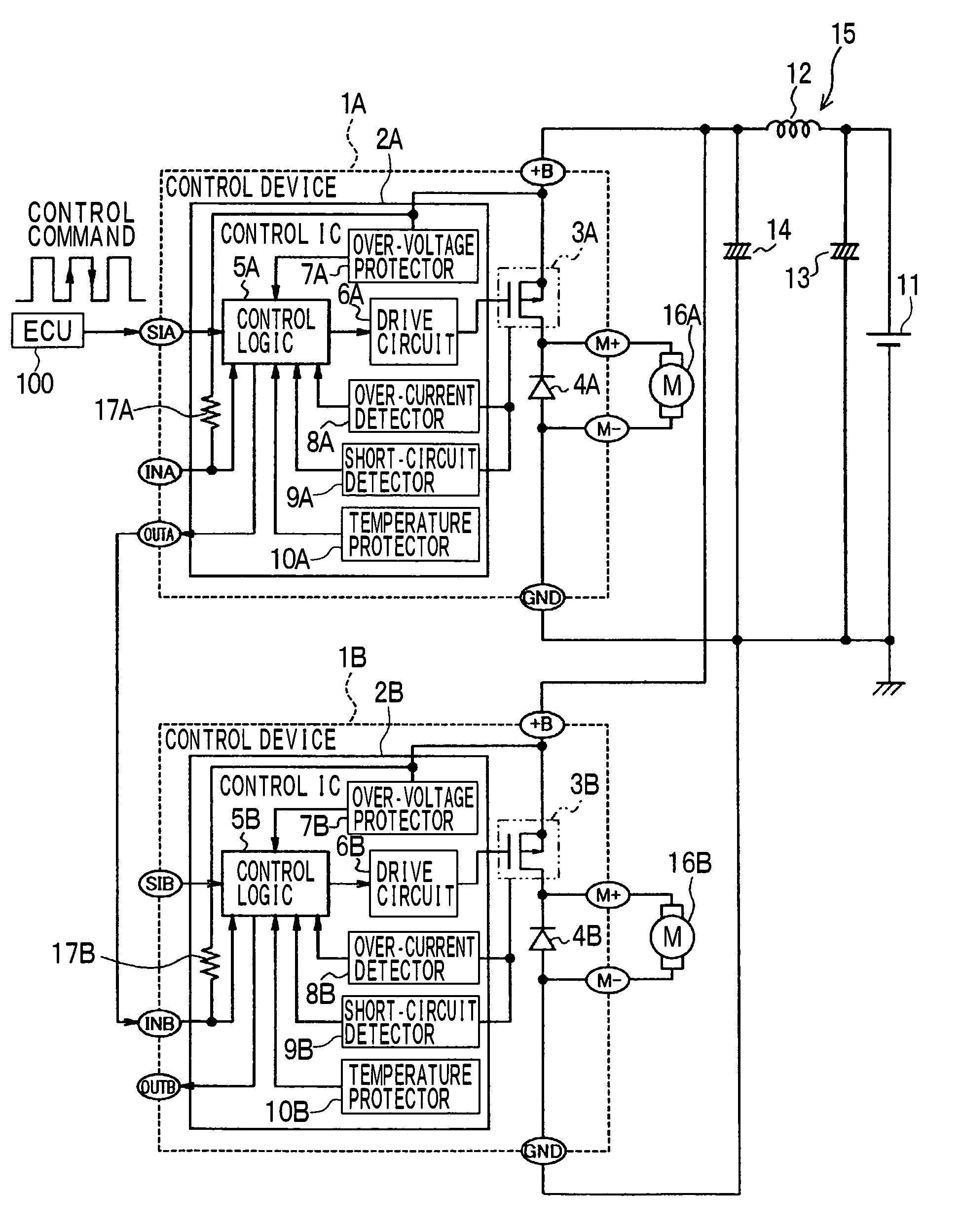 patent us8310194 load drive device and control system of the same SG3525 PWM Circuit patent drawing
