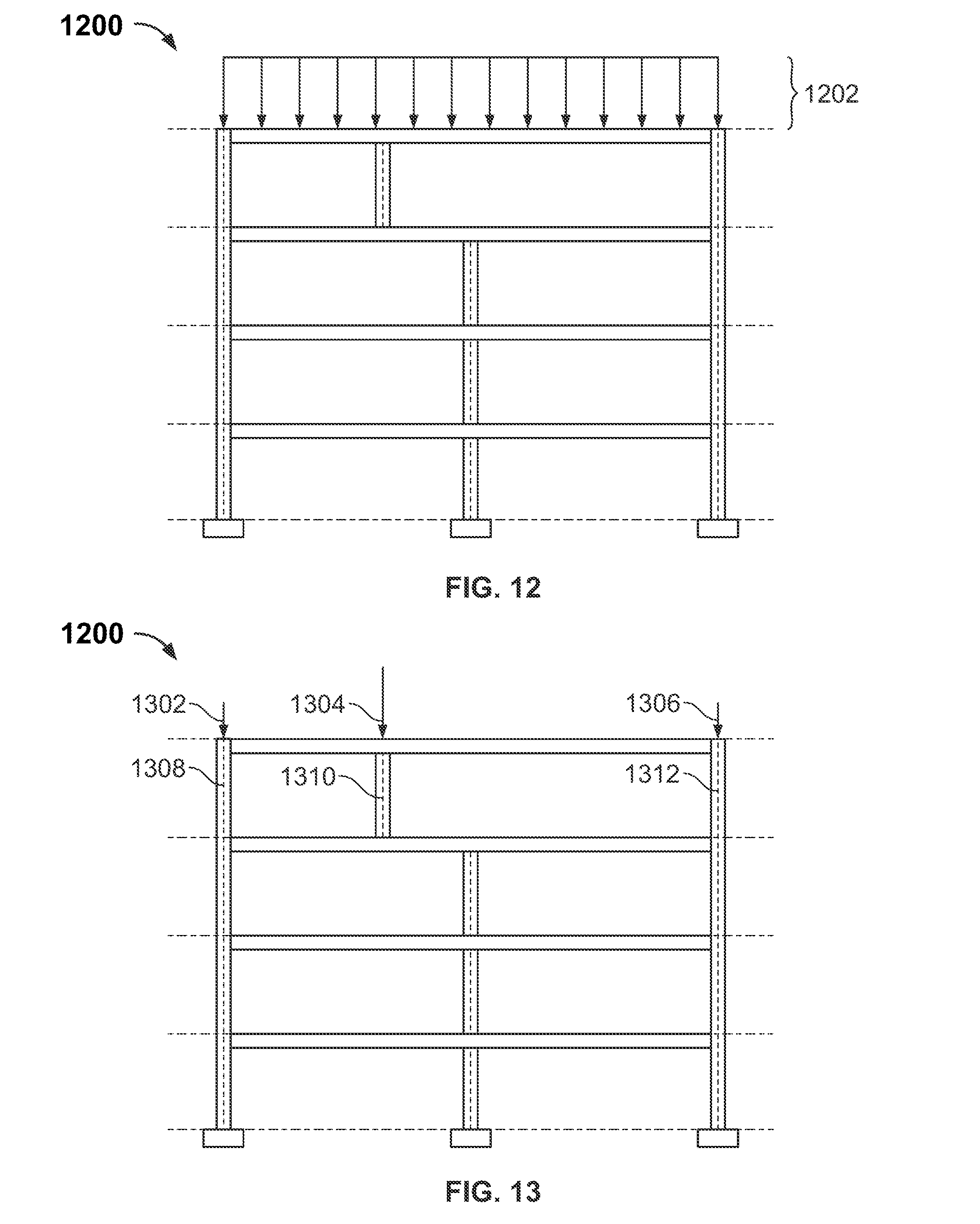 Patent Us8315840 Transferring Structural Loads And Displacements Show Transcribed Image Text Draw The Shear Bendingmoment Diagrams Drawing