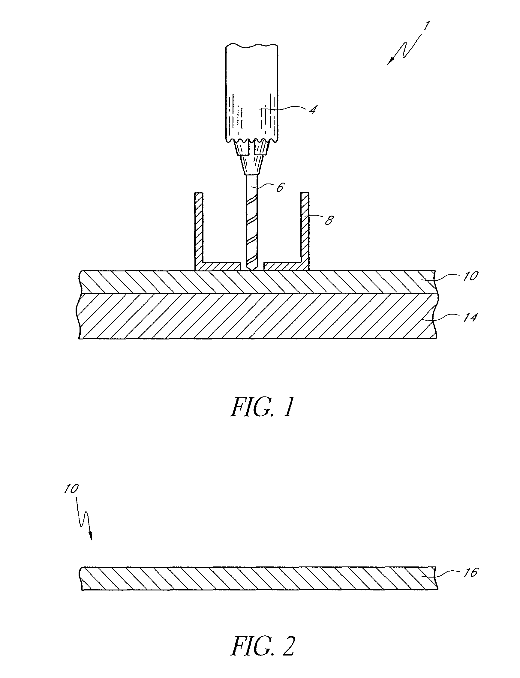 patent us8323798 - systems and methods for drilling holes in printed circuit boards